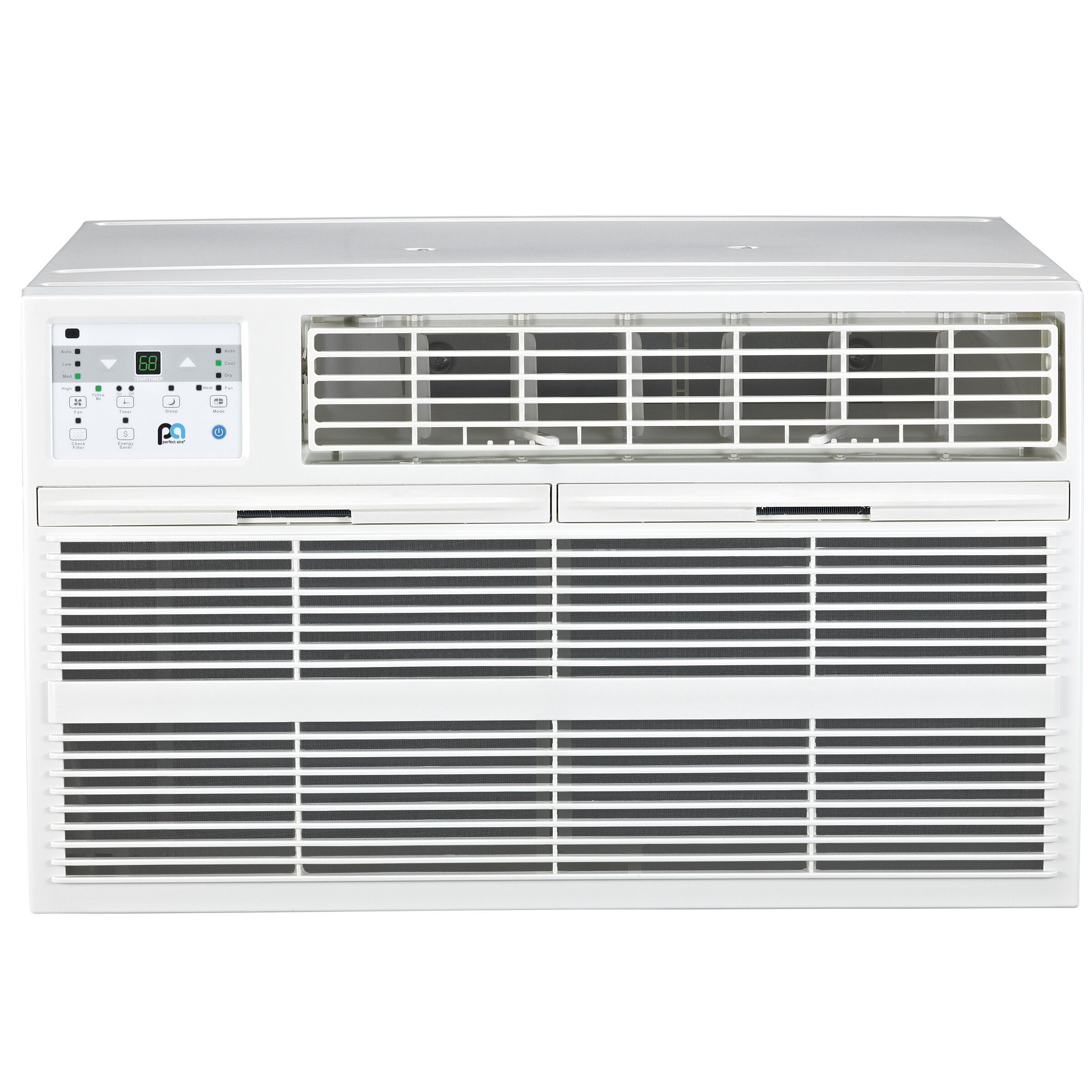 Perfectaire 12000 btu energy star air conditioner with for 12000 btu window air conditioner on sale