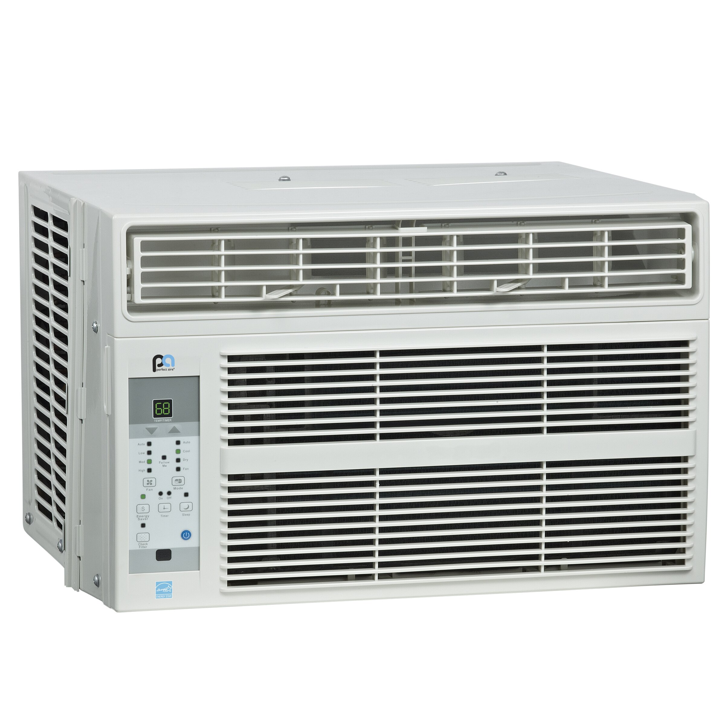 BTU Energy Star Window Air Conditioner with Remote & Reviews Wayfair #526979