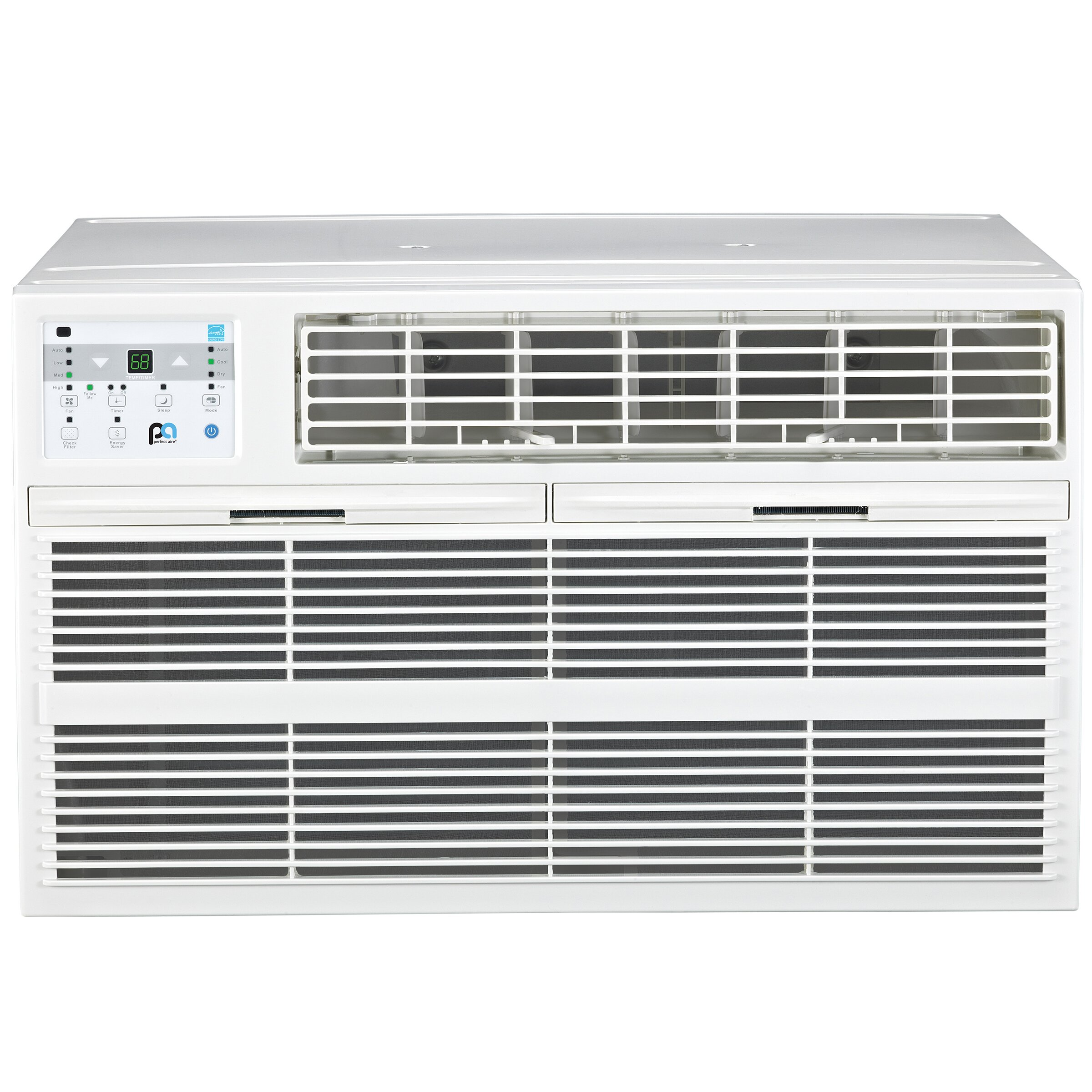 Perfectaire 10000 btu energy star air conditioner with for 10000 btu window air conditioner room size
