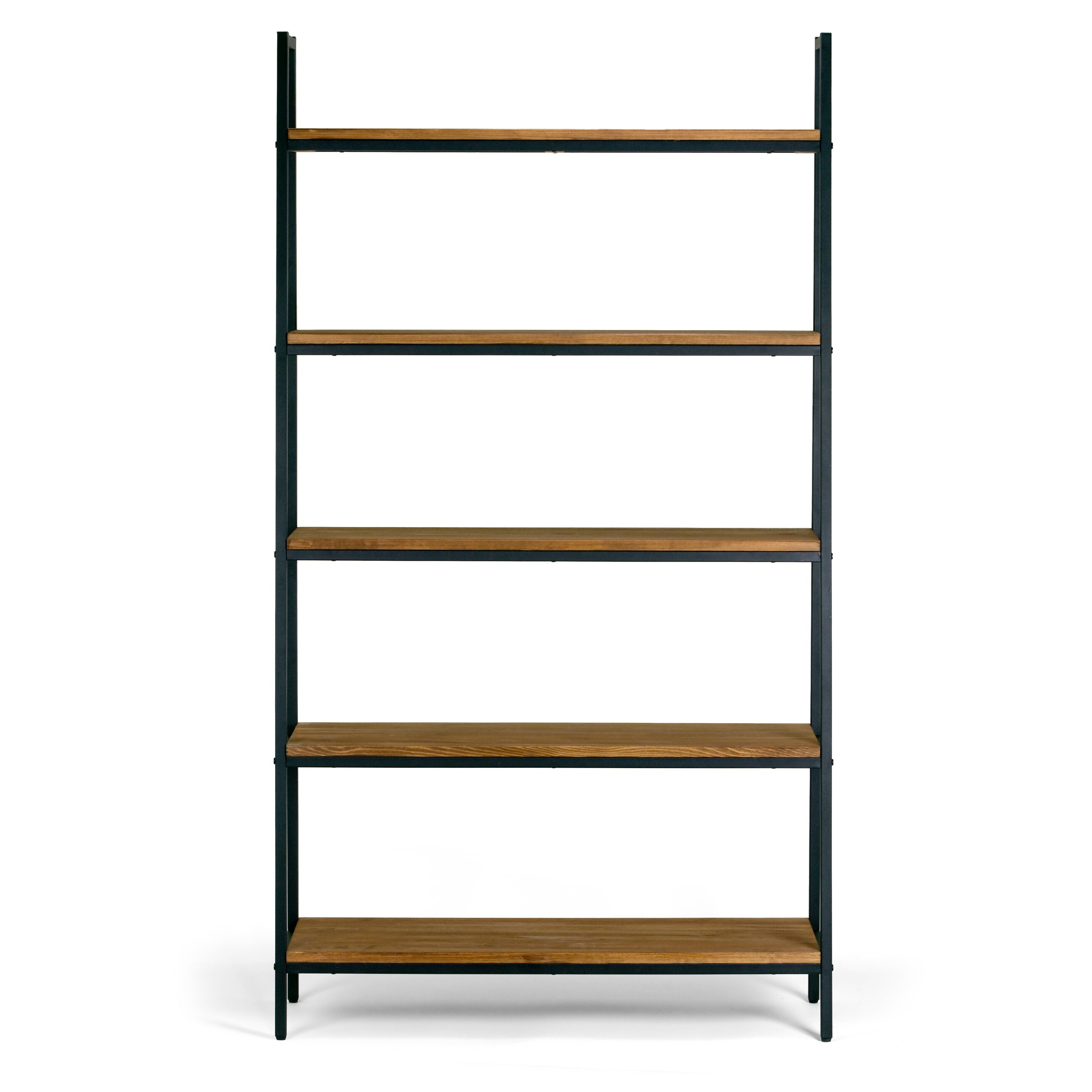 glamour home decor ailis 72 etagere bookcase wayfair. Black Bedroom Furniture Sets. Home Design Ideas