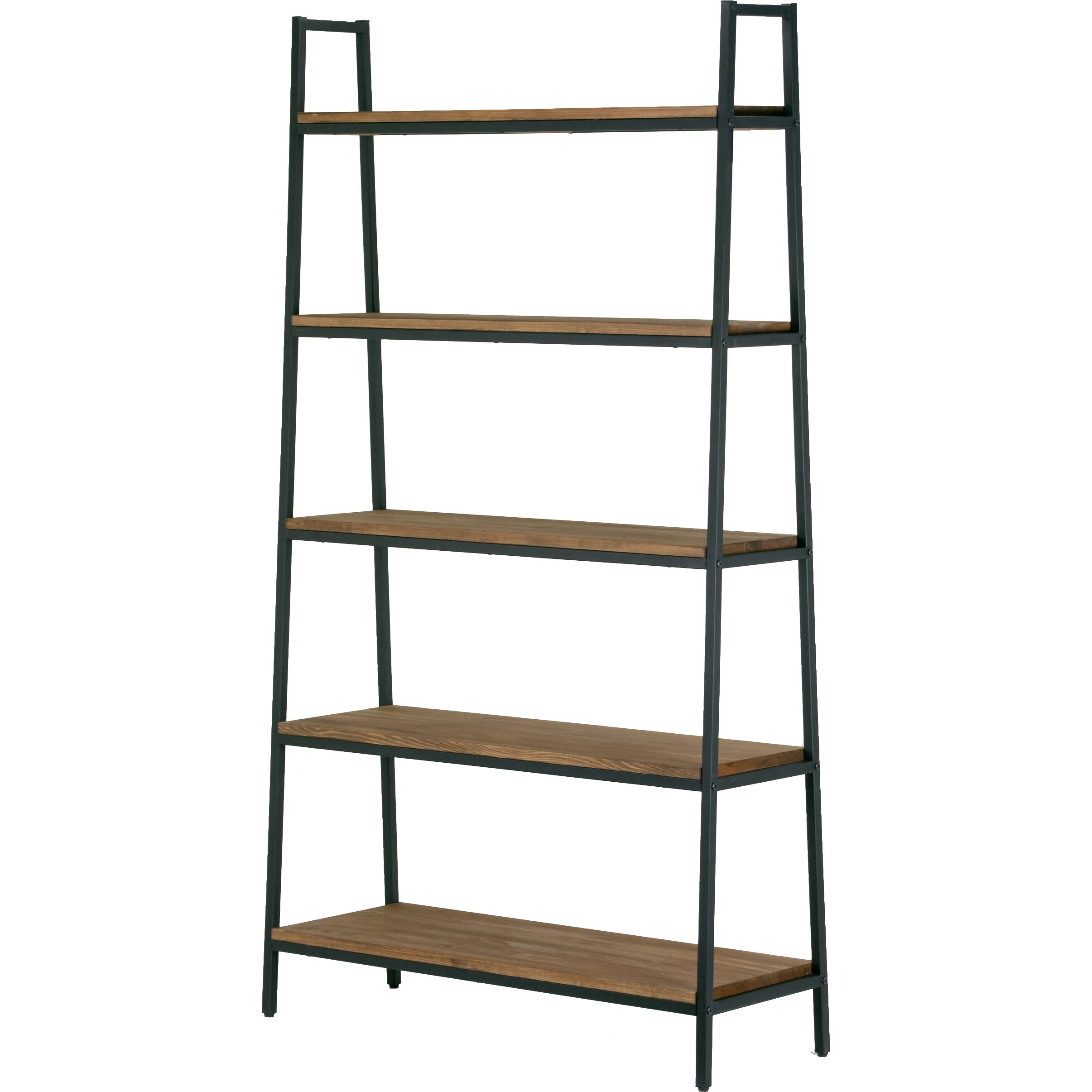 Glamour home decor ailis 72 etagere bookcase wayfair for Home decorators bookcase
