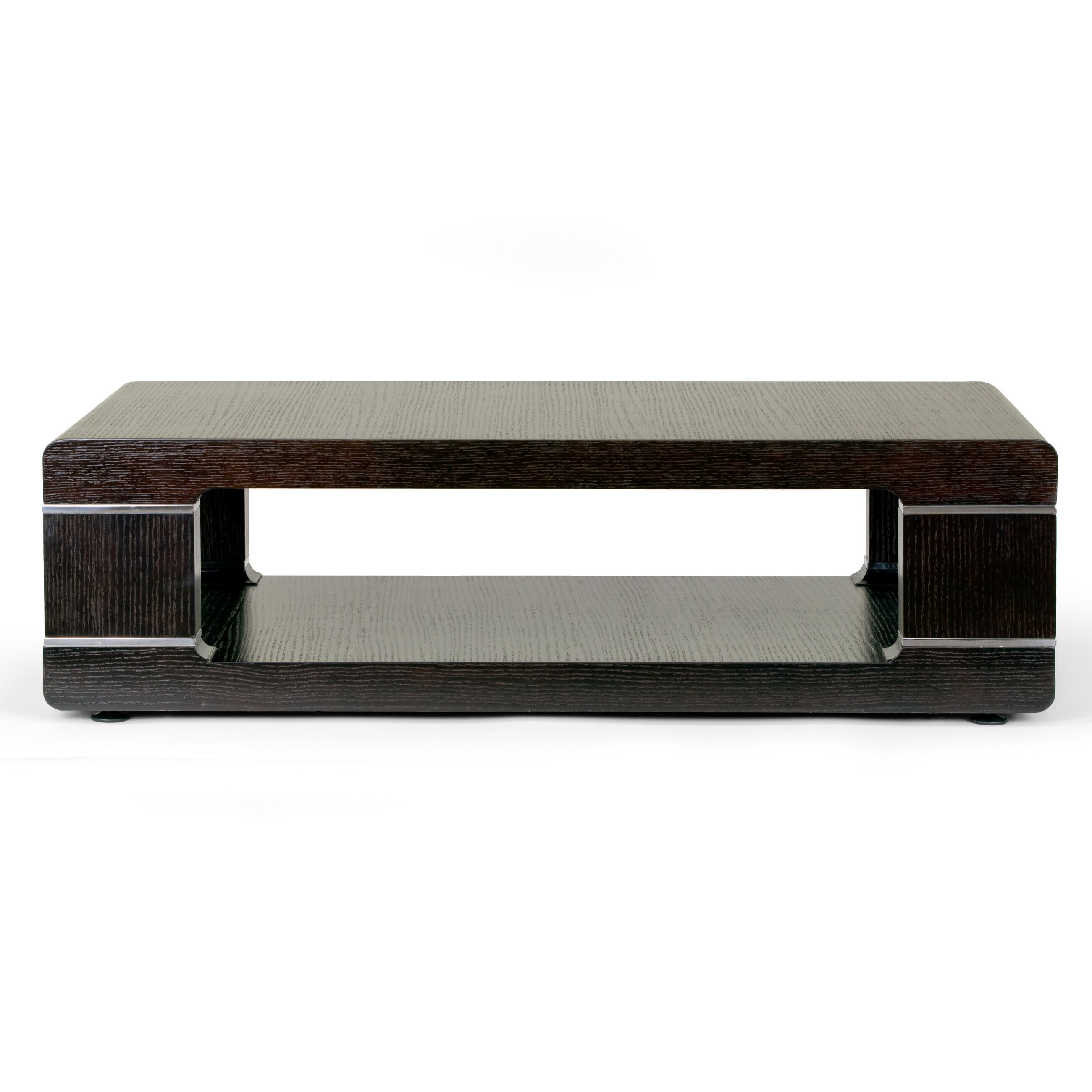 Glamour home decor airlie modern coffee table wayfair Coffee table accessories