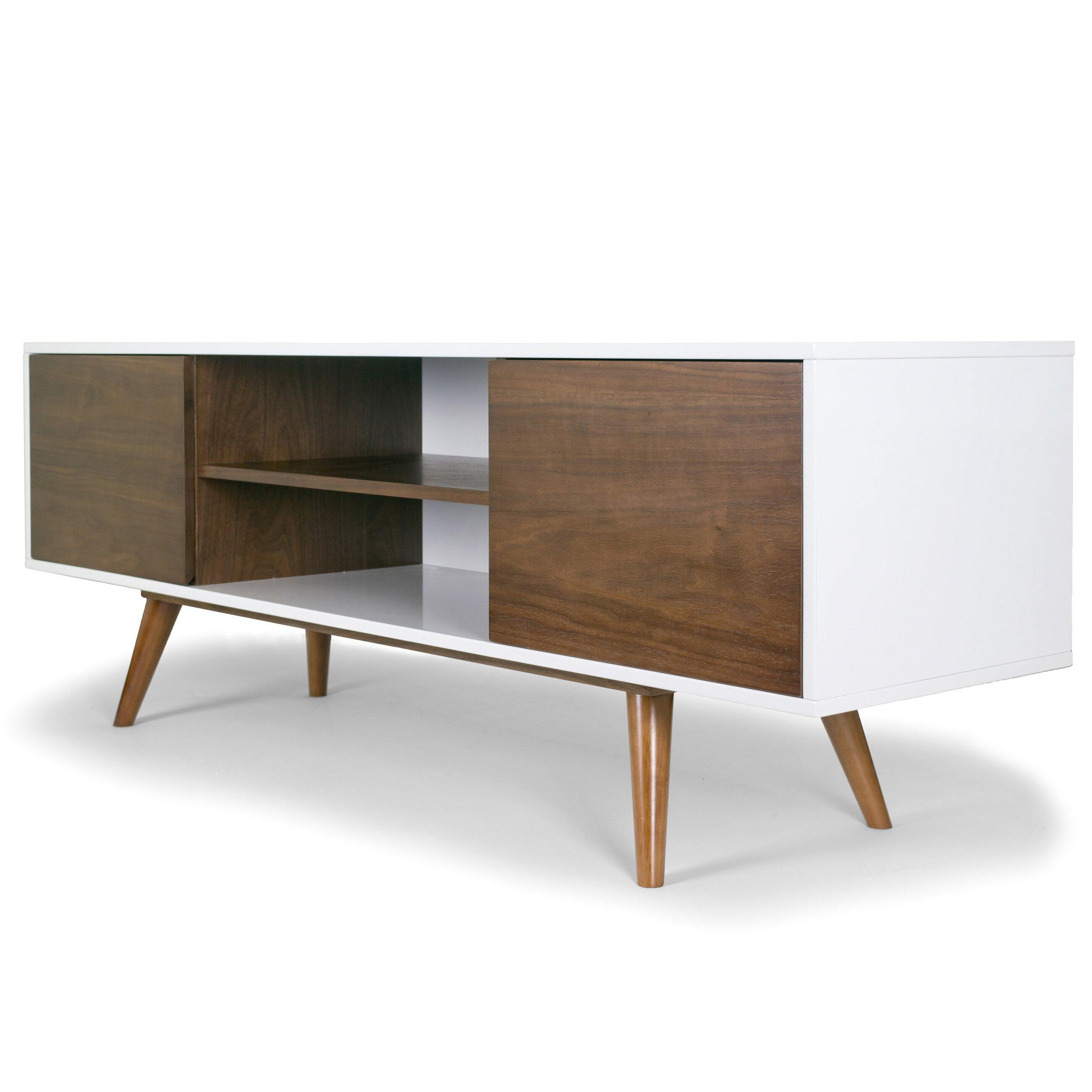 Glamour Home Decor Ailsa Scandinavian Style TV Stand