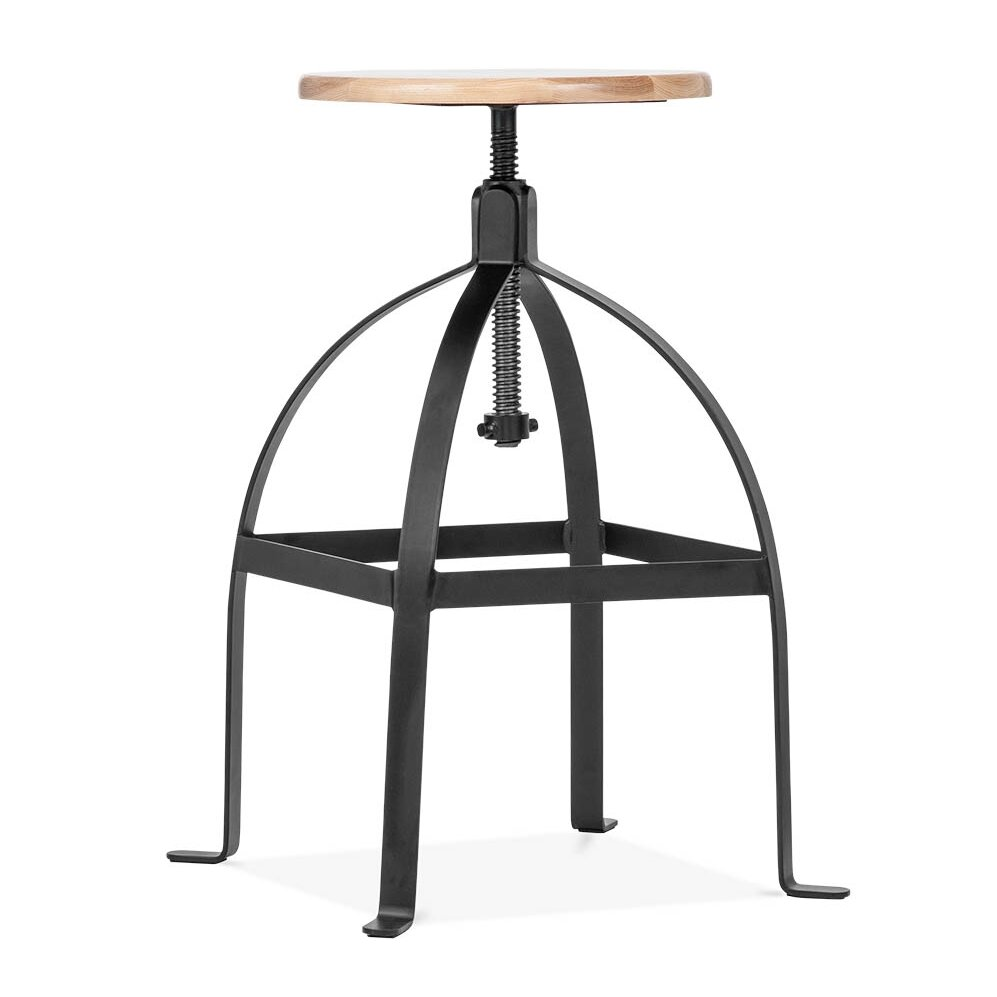 Design Lab Mn Adjustable Height Swivel Bar Stool Wayfair
