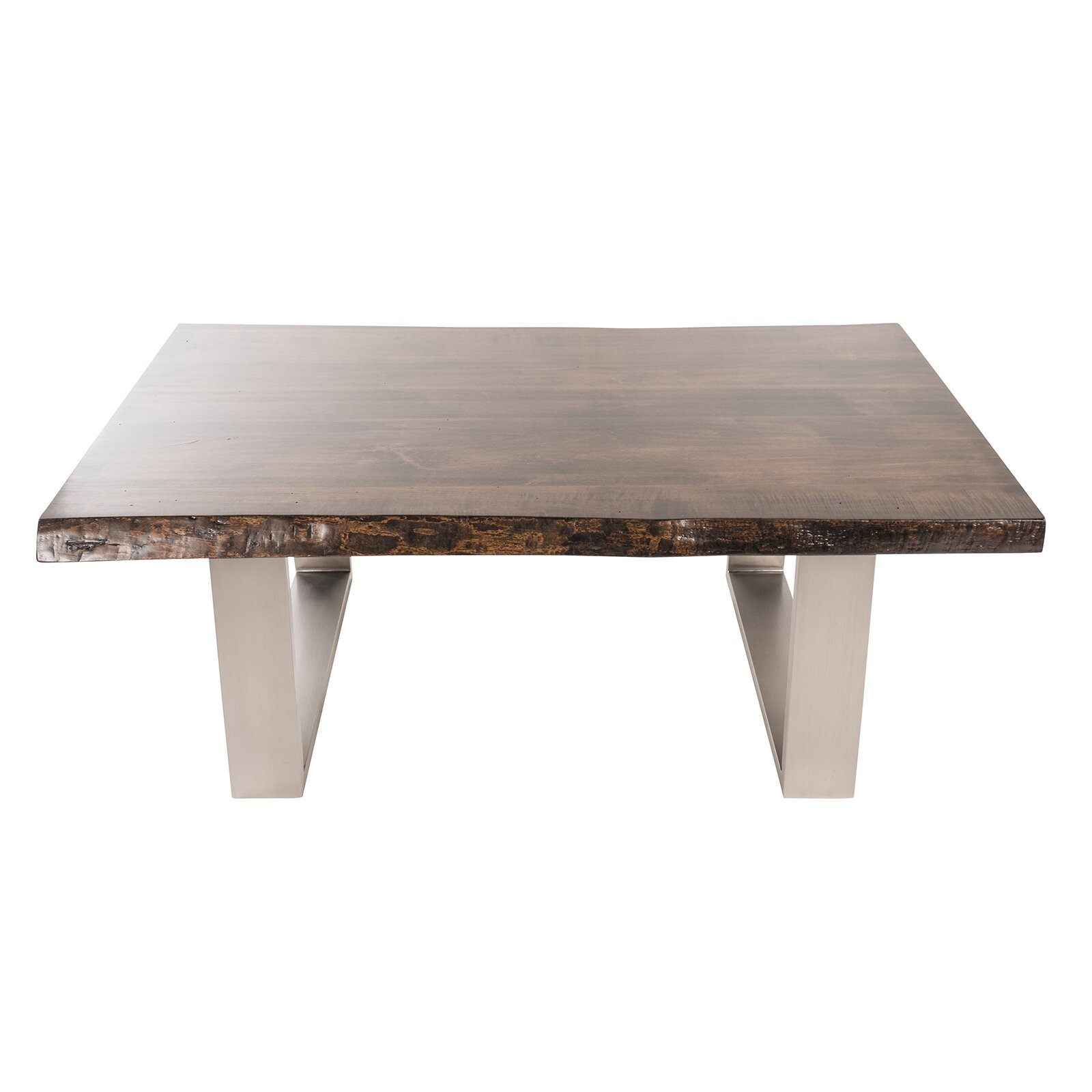 Joseph allen live edge coffee table wayfair for Table furniture