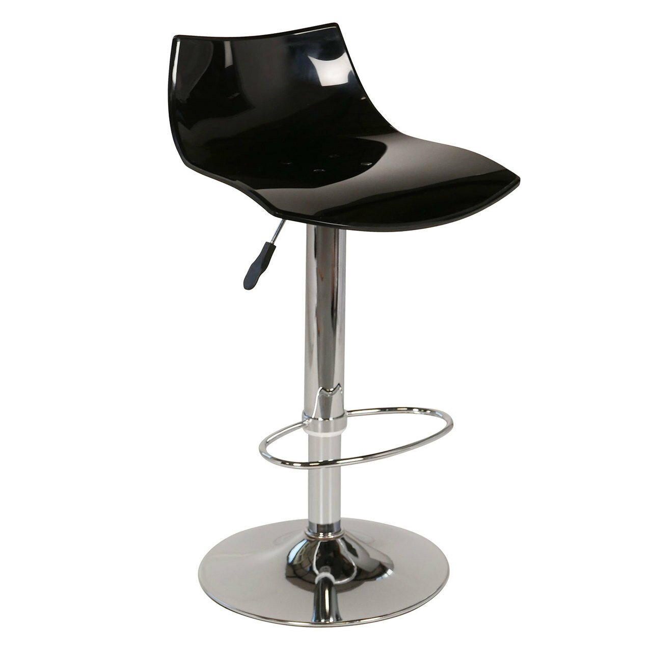 Counter Height Acrylic Stools : Joseph Allen Lucite Adjustable Height Swivel Bar Stool Wayfair.ca