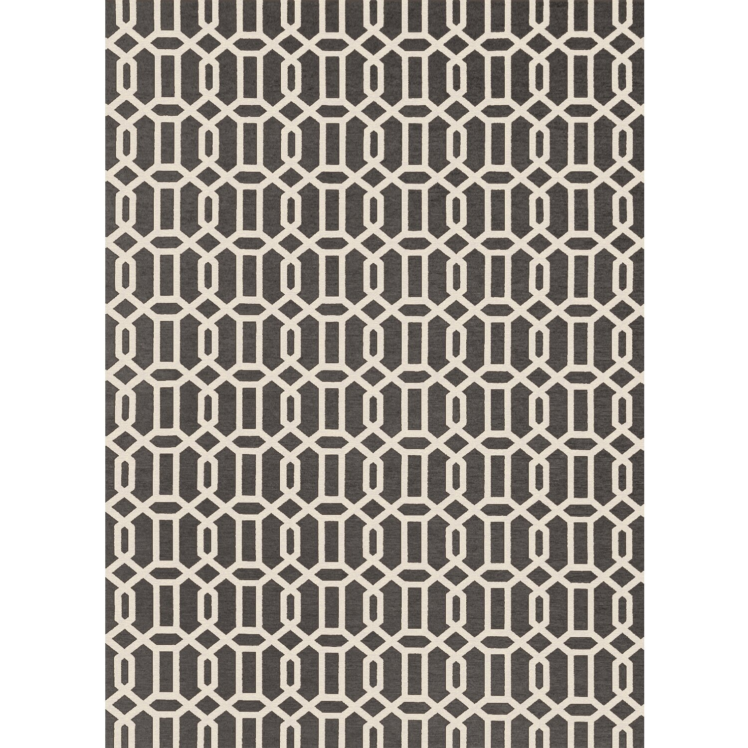 Ruggable Gray And White Area Rug & Reviews