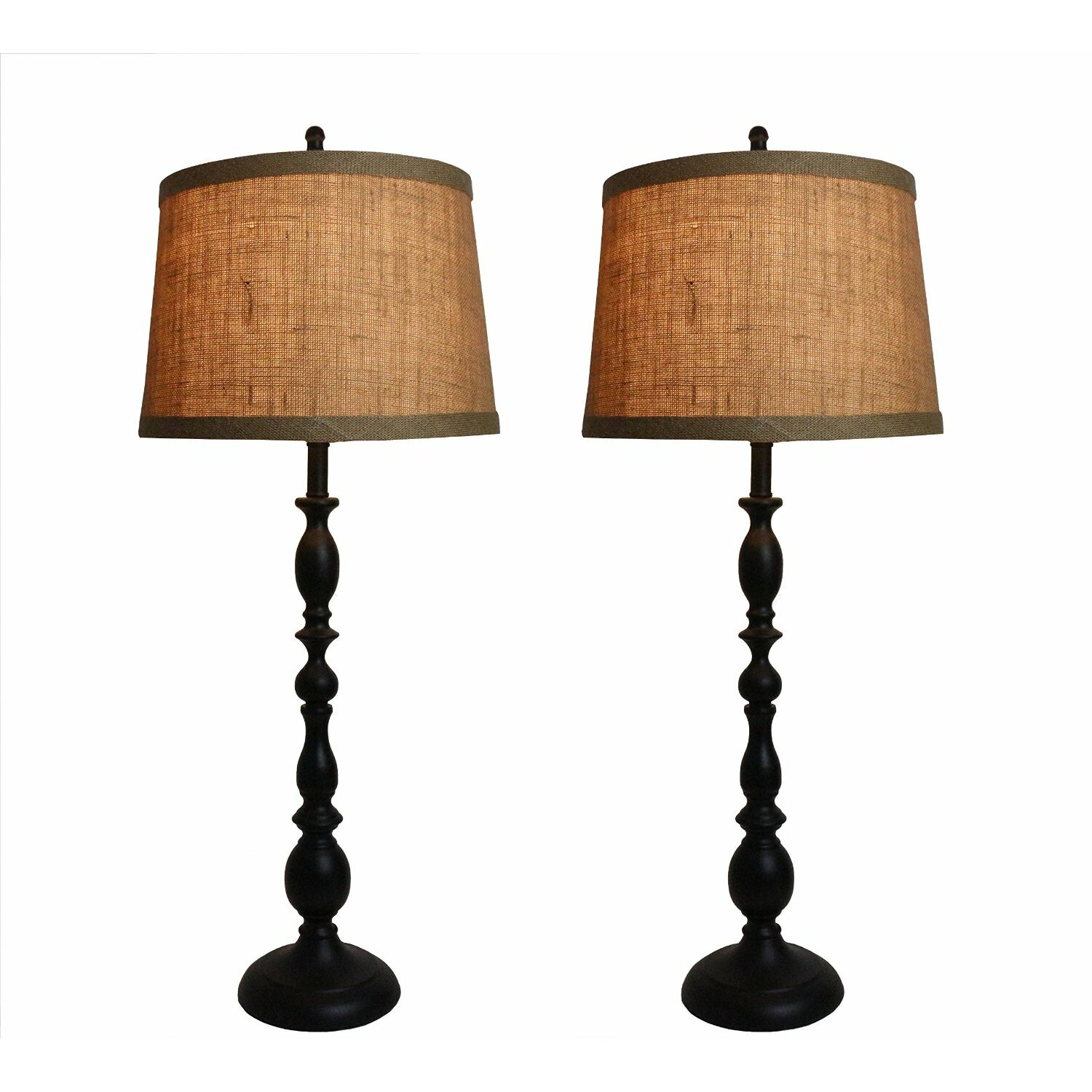 urbanest parker 31 5 table lamps set of 2 reviews. Black Bedroom Furniture Sets. Home Design Ideas