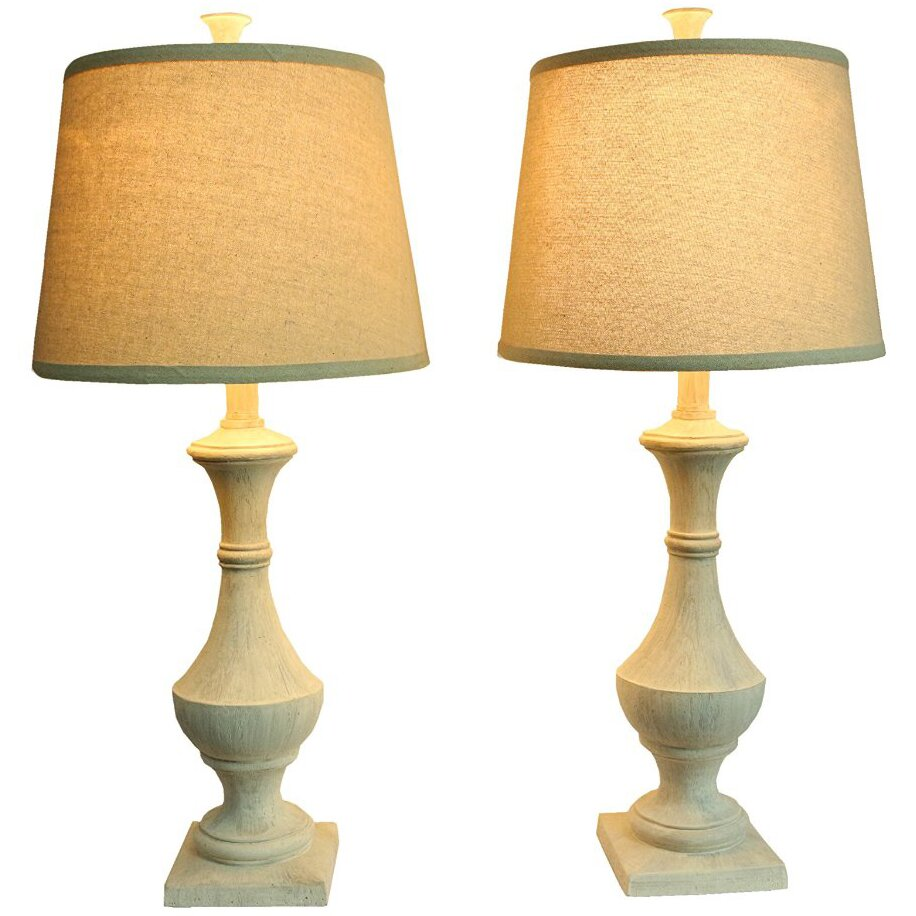 Urbanest marion 27quot table lamps set of 2 reviews for Table lamp 27 cm