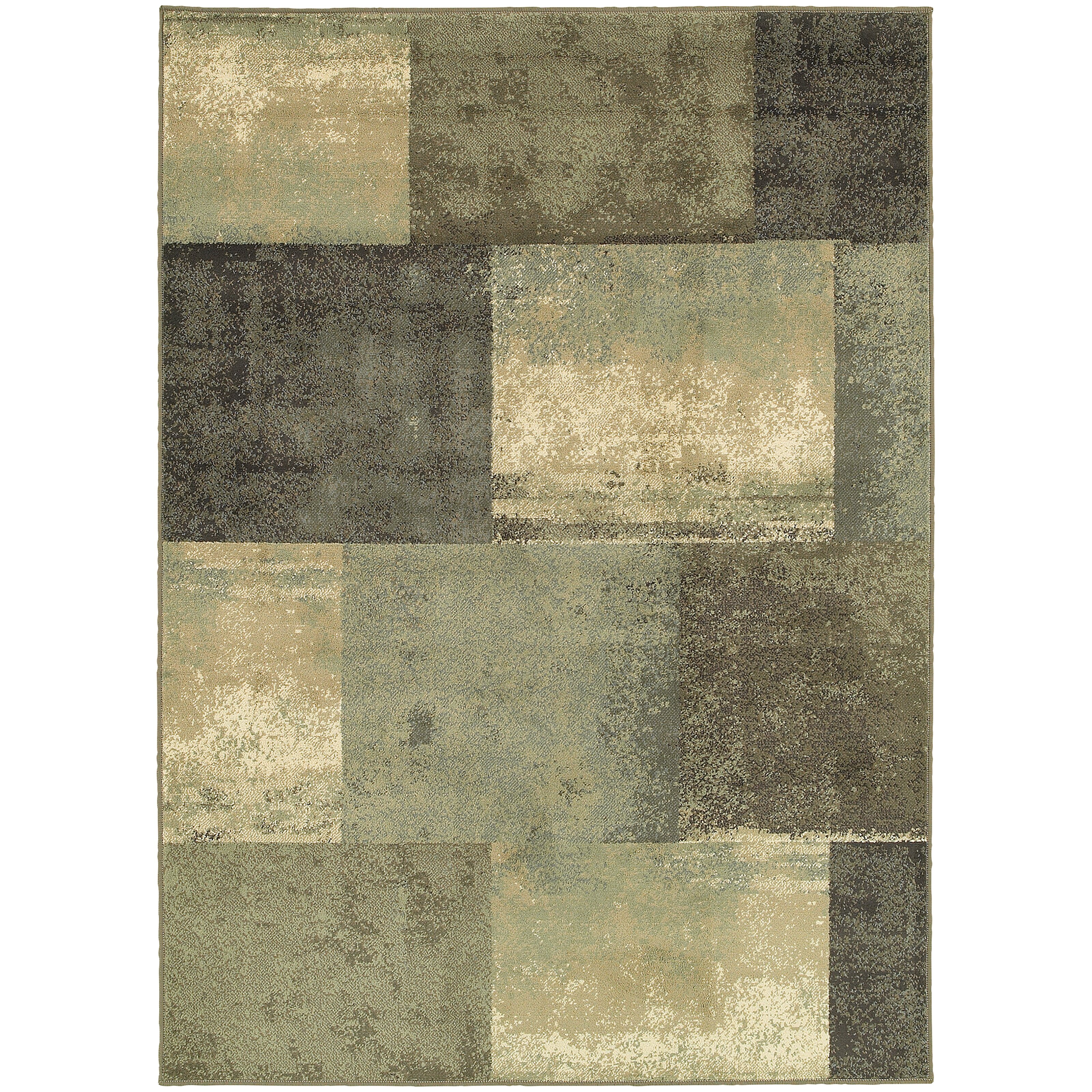Threadbind Davenport Brown/Green Area Rug & Reviews