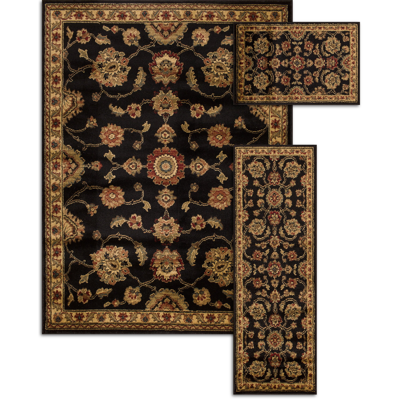 Threadbind penfield piece 3 piece area rug set reviews for Area rug sets