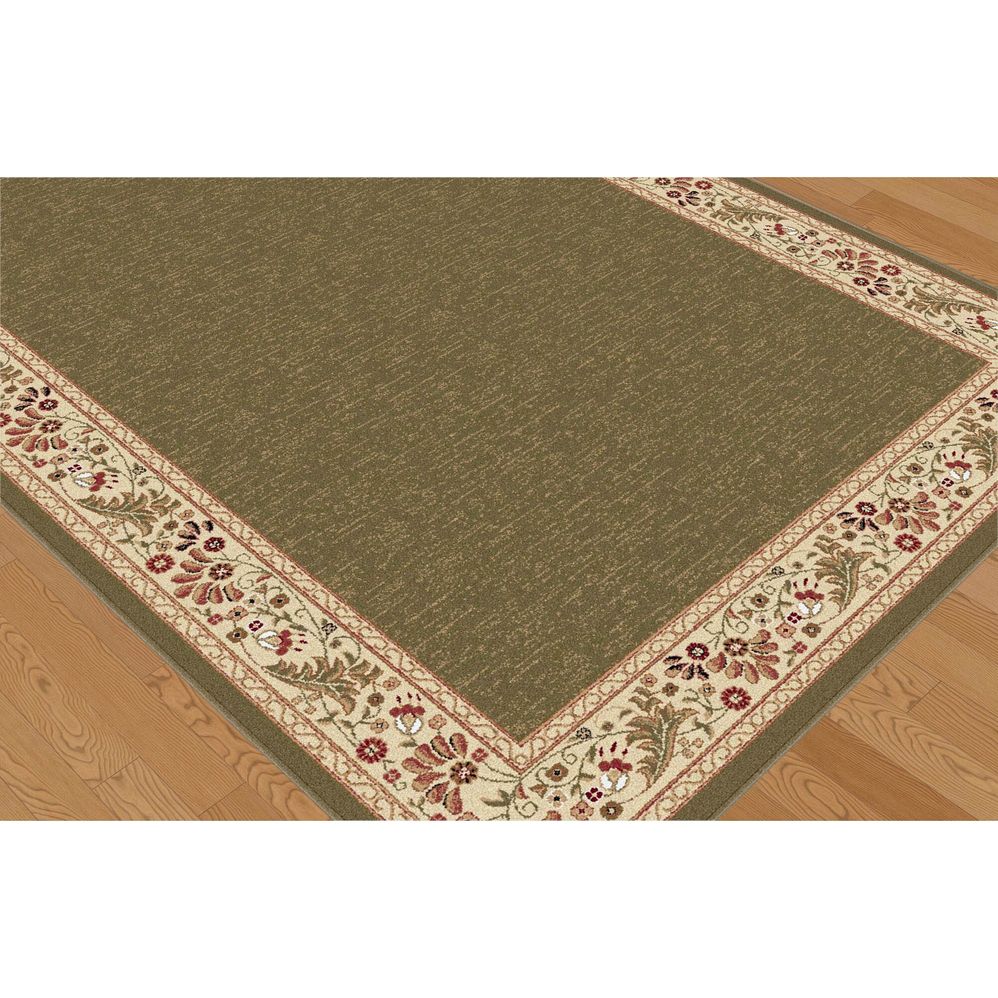 Threadbind richmond green area rug reviews wayfair for Where can i buy area rugs