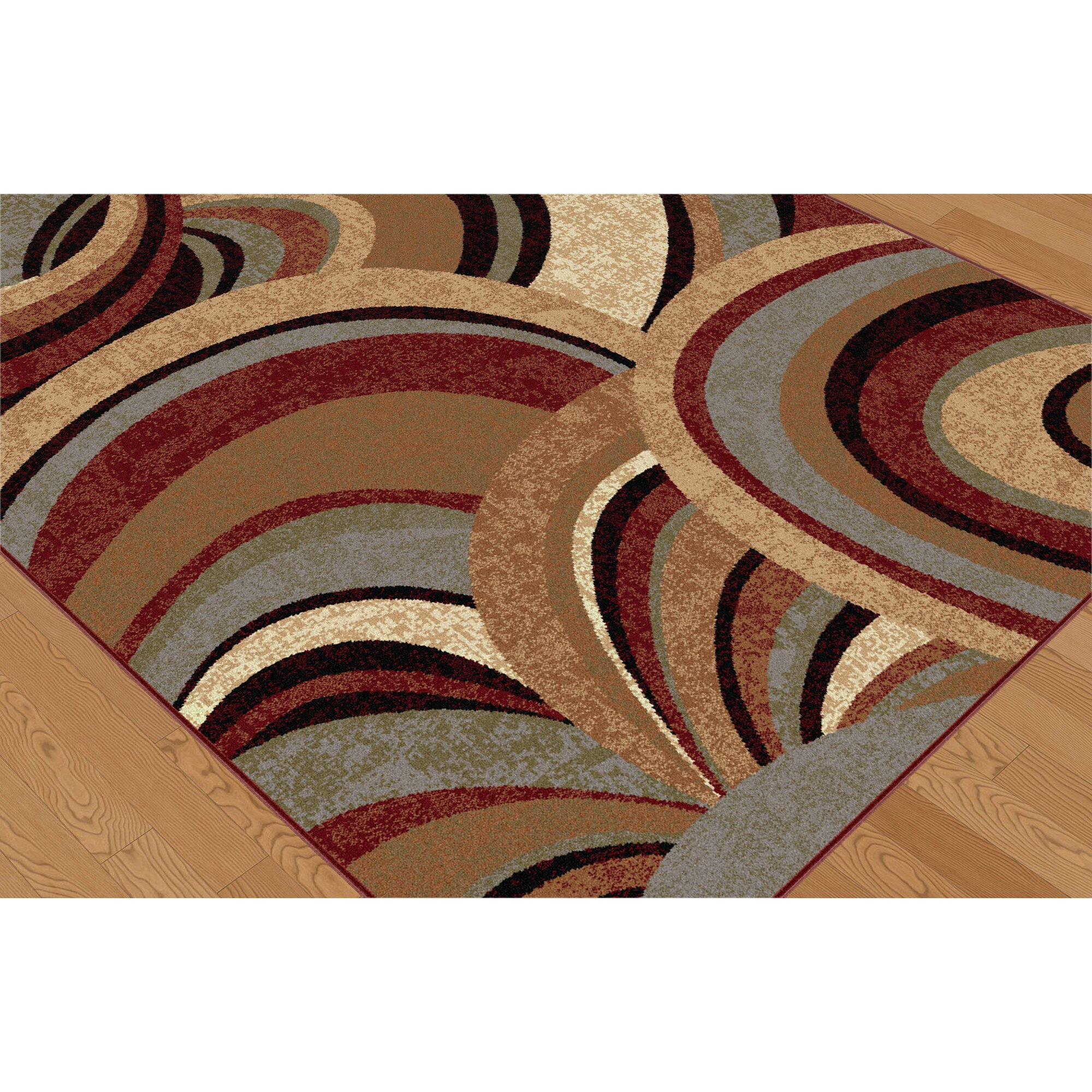 Threadbind somerville brown area rug reviews wayfair for Where can i buy area rugs