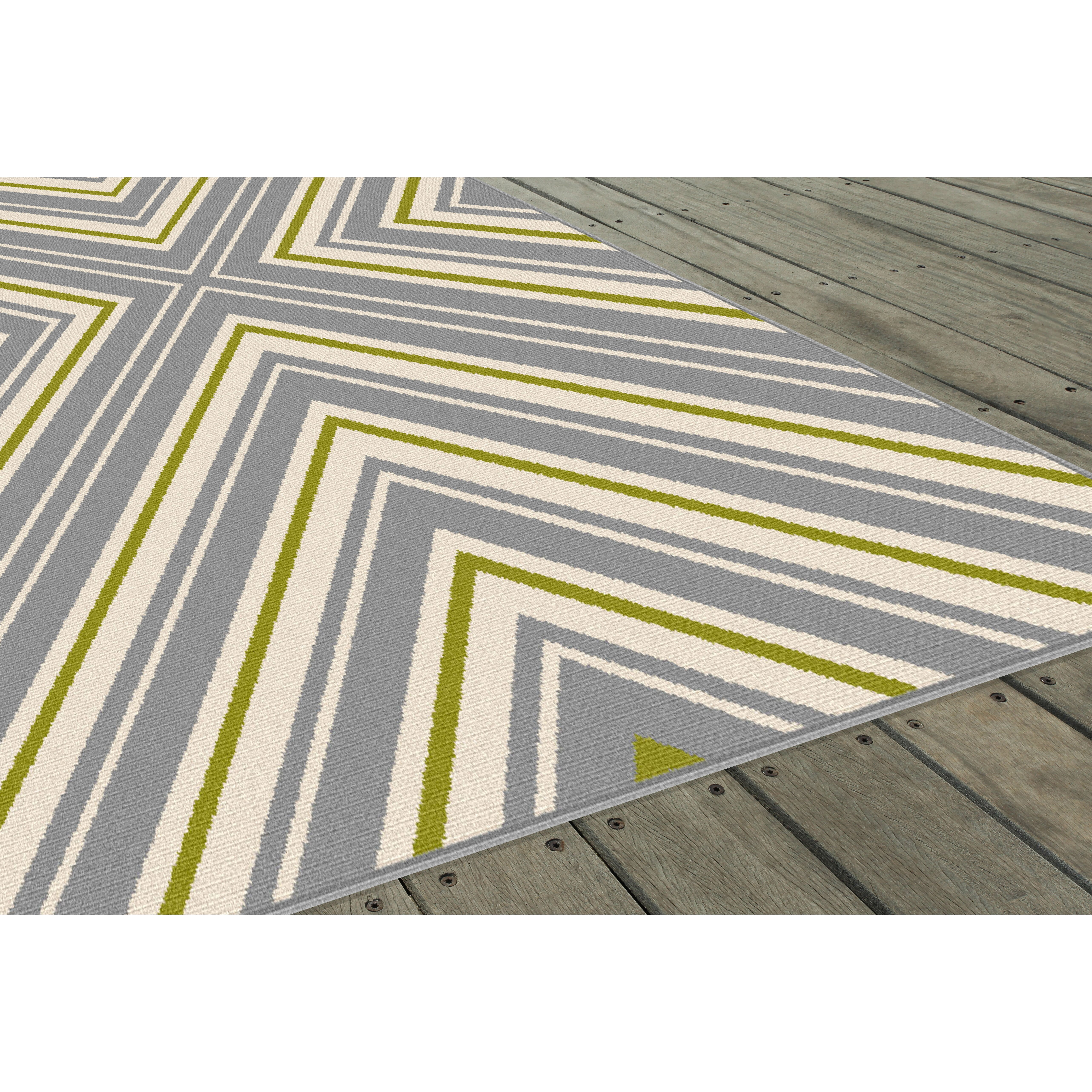 threadbind fairhaven gray indoor outdoor area rug wayfair