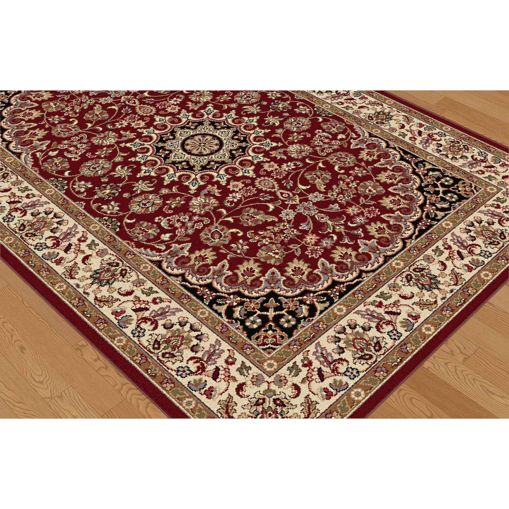 threadbind litchford red area rug reviews wayfair