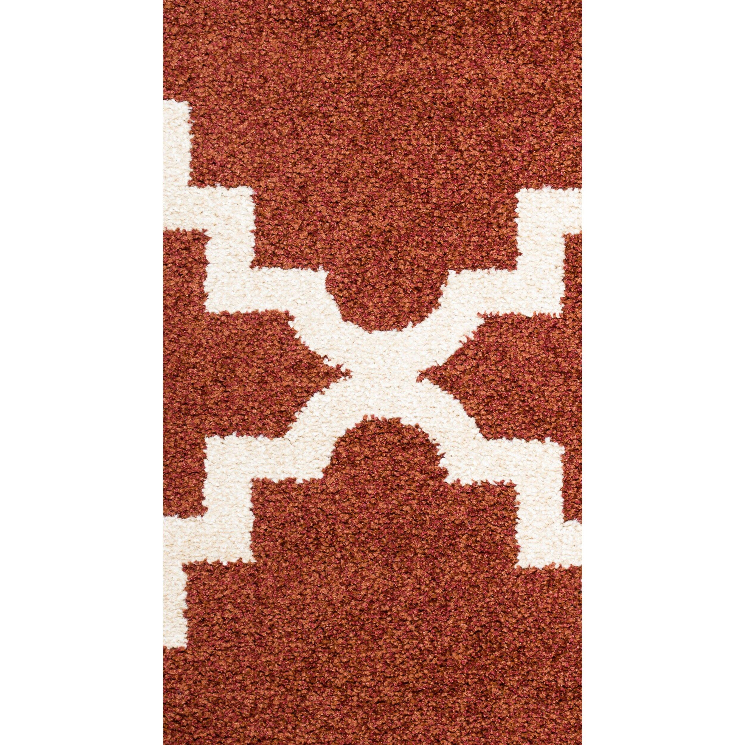 Threadbind Darcy Red Indoor Outdoor Area Rug & Reviews