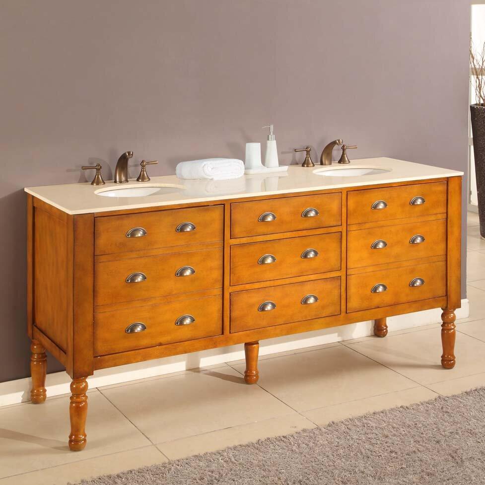 Bathroom Vanity Wyndham Collection Sheffield 70 Inch Double