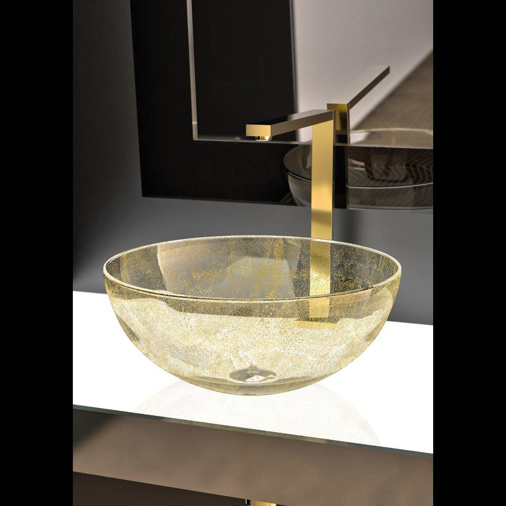MaestroBath Laguna Luxury Vessel Sink | Wayfair