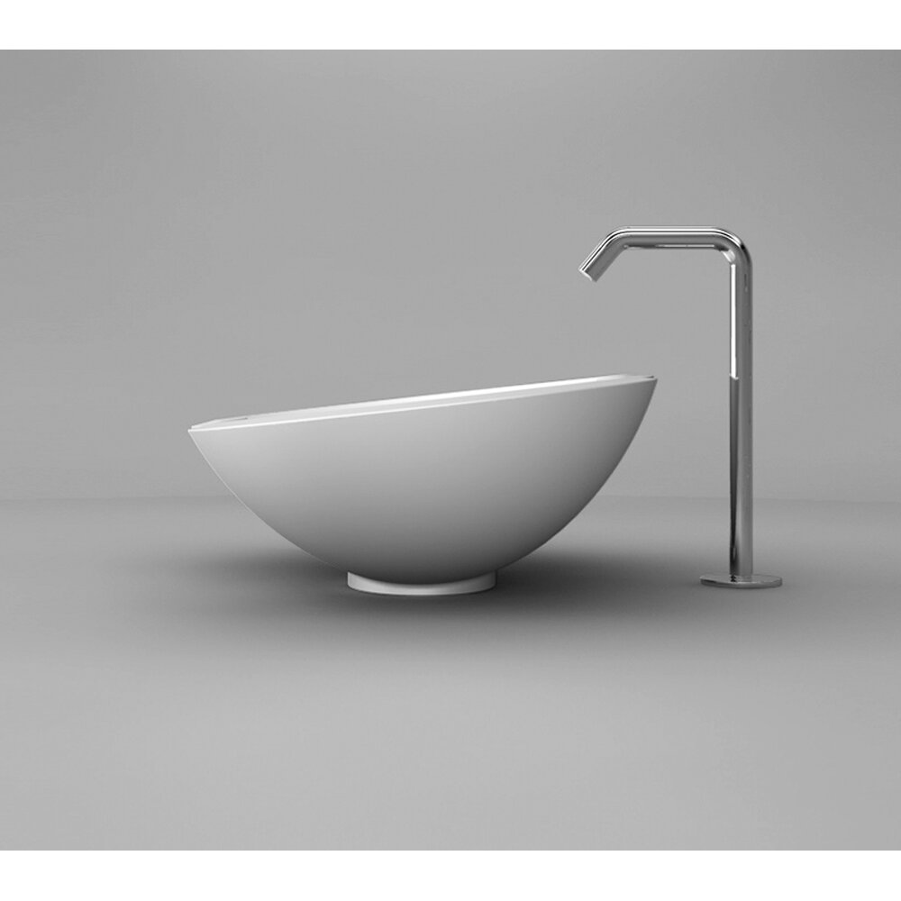 Maestrobath zelig european bathroom sink wayfair for European bathtub