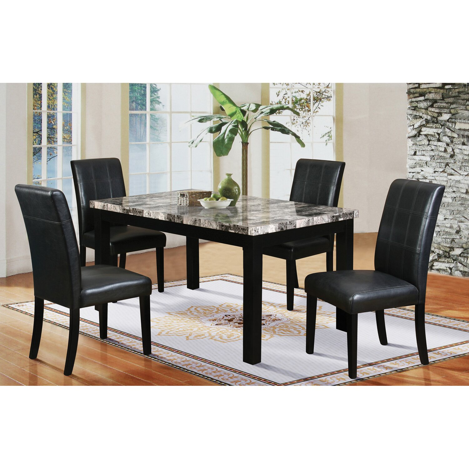 Latitude Run Cahill 5 Piece Dining Set Amp Reviews Wayfair Ca