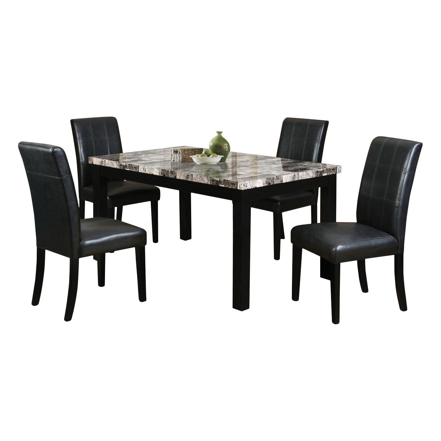 Ultimate Accents Urban 7 Piece Dining Set Reviews: Latitude Run Cahill 5 Piece Dining Set & Reviews