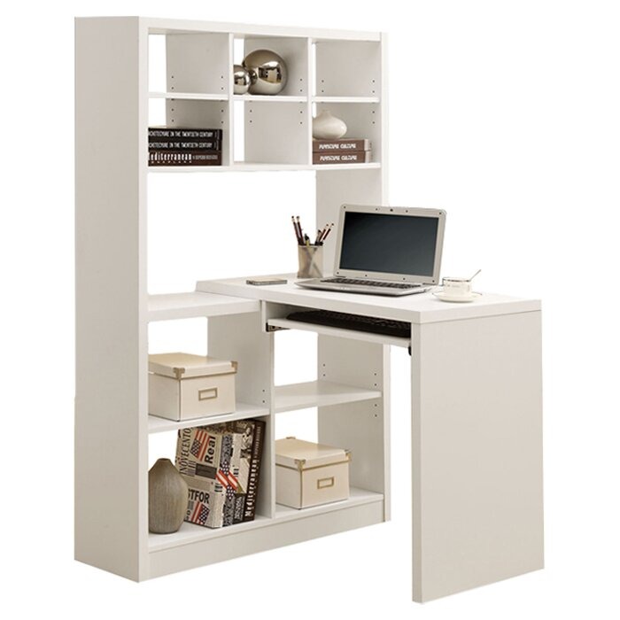latitude run computer desk with keyboard tray reviews. Black Bedroom Furniture Sets. Home Design Ideas