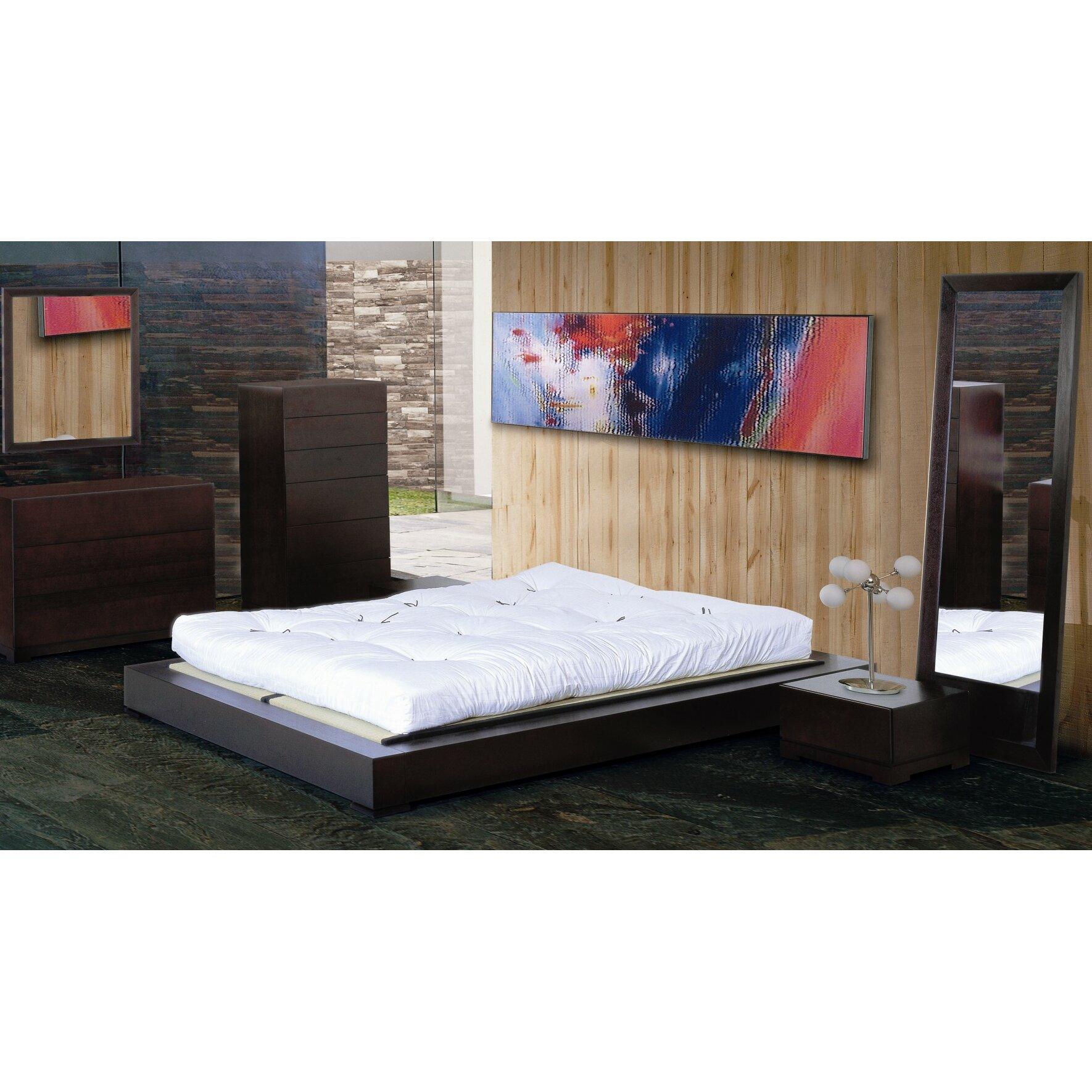 Latitude Run Zen Platform Customizable Bedroom Set