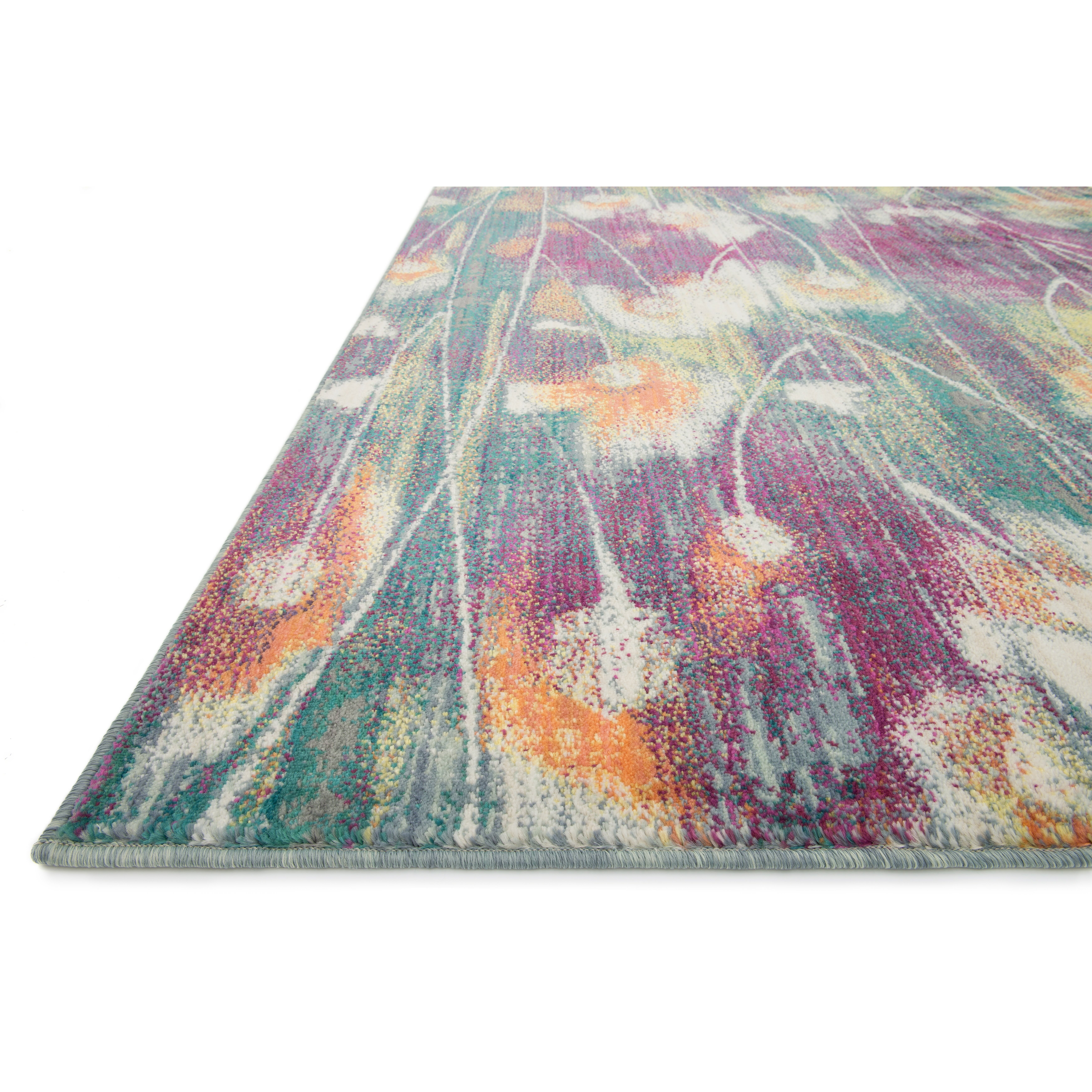 Latitude Run Milner Purple Green Area Rug Amp Reviews