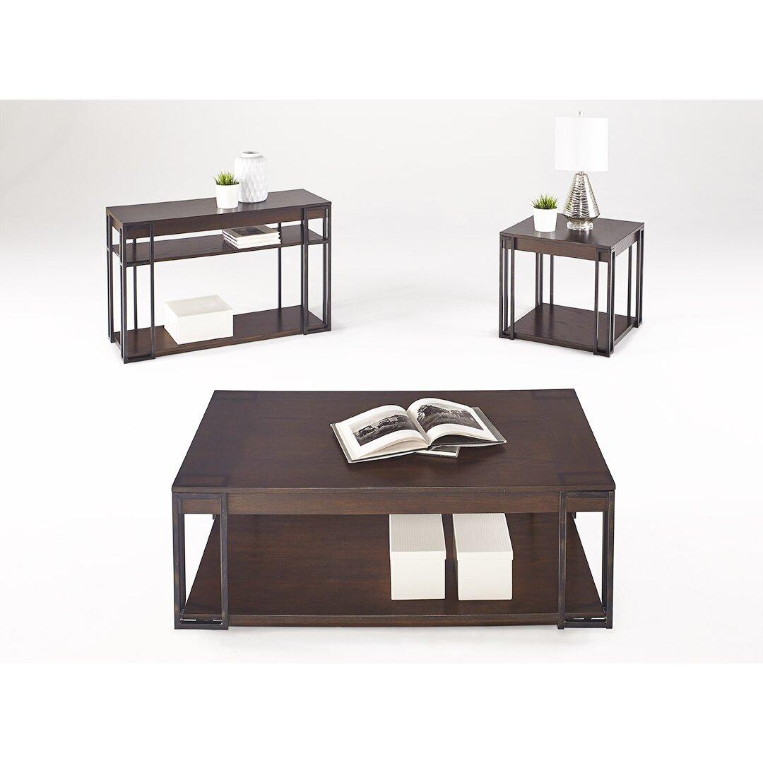 Square Coffee Table By Latitude Run: Latitude Run Albion Rectangular Cocktail Coffee Table
