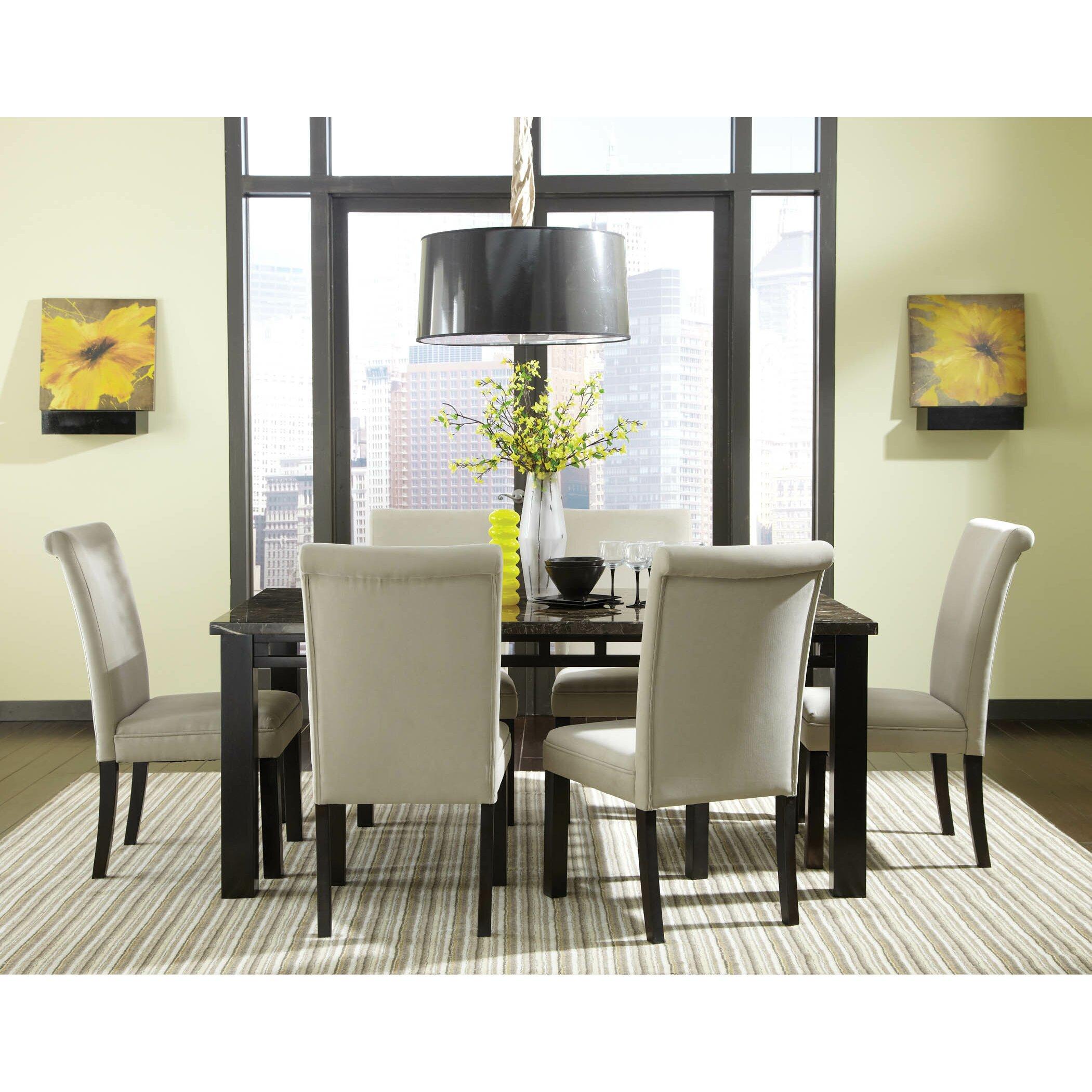 Wayfair Dining Table SetMarble Pub And Chairs