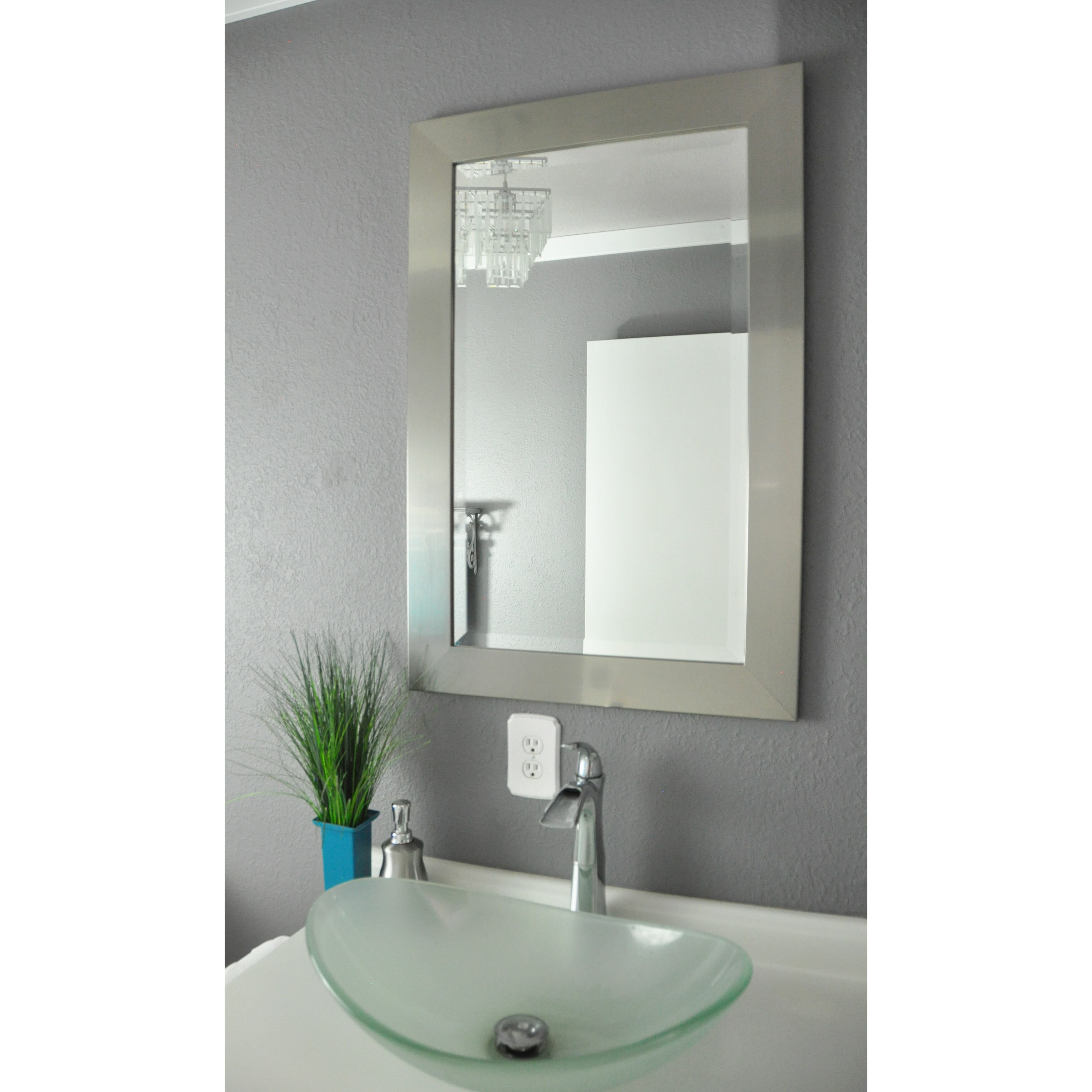 bathroom mirrors overstock latitude run wall mirror amp reviews wayfair ca 11157