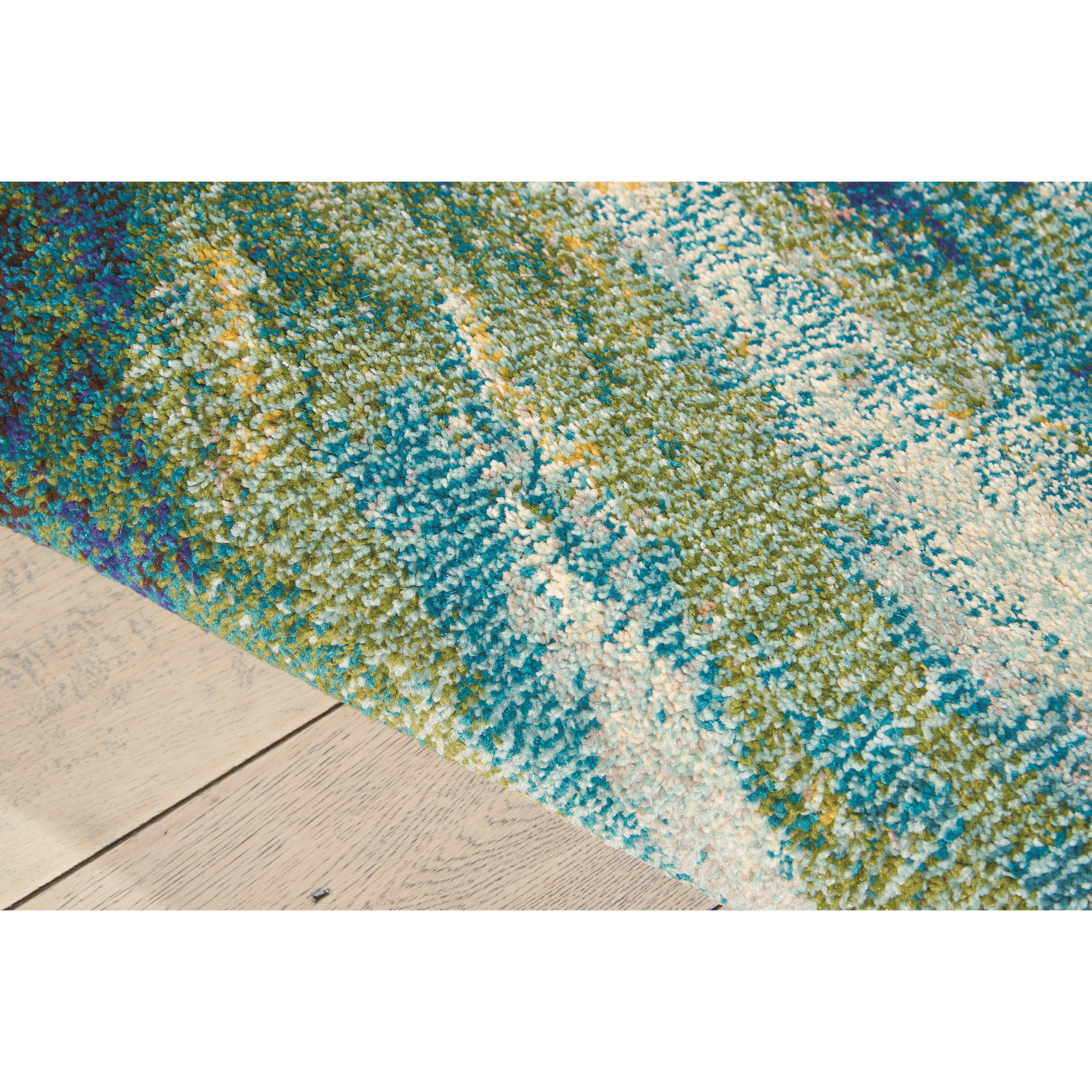 Latitude run abertamy wave area rug reviews wayfair for 10x10 living room rugs