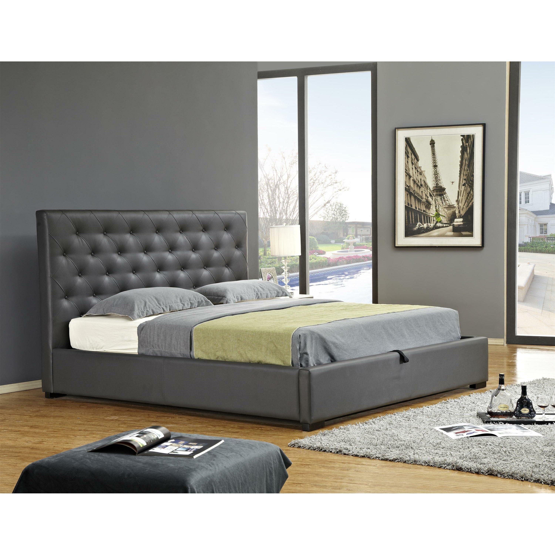 Delaney Upholstered Storage Platform Bed