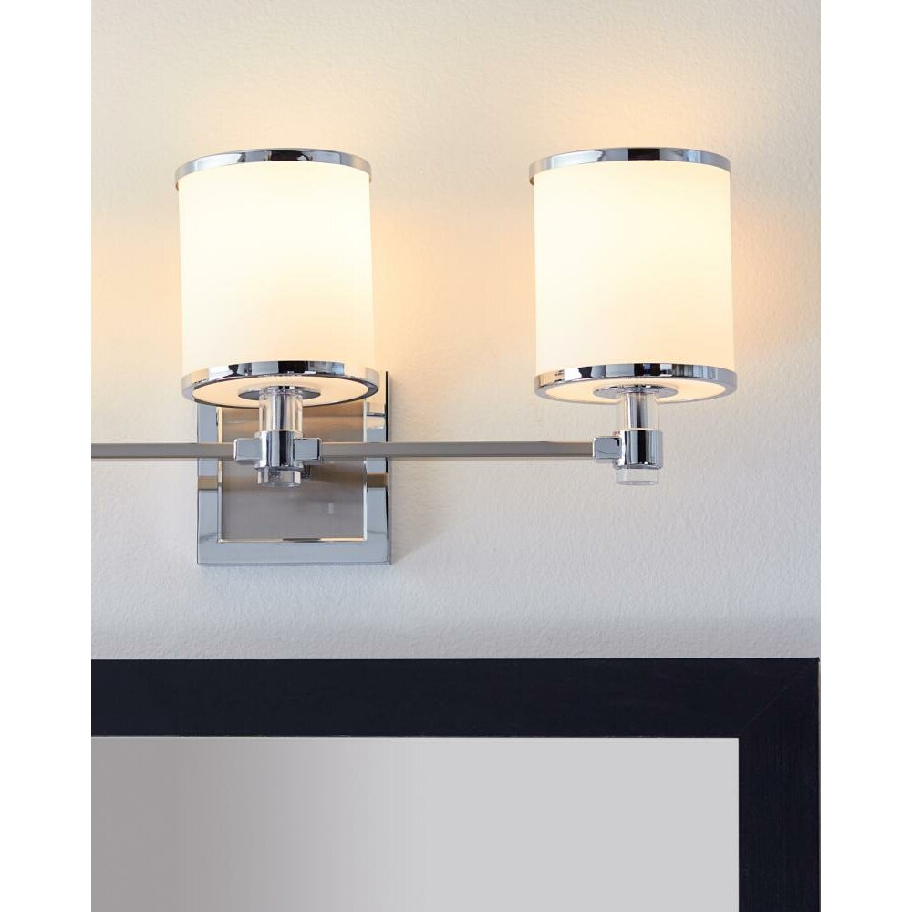 Latitude run gladys 3 light bath vanity light wayfair for 3 bath