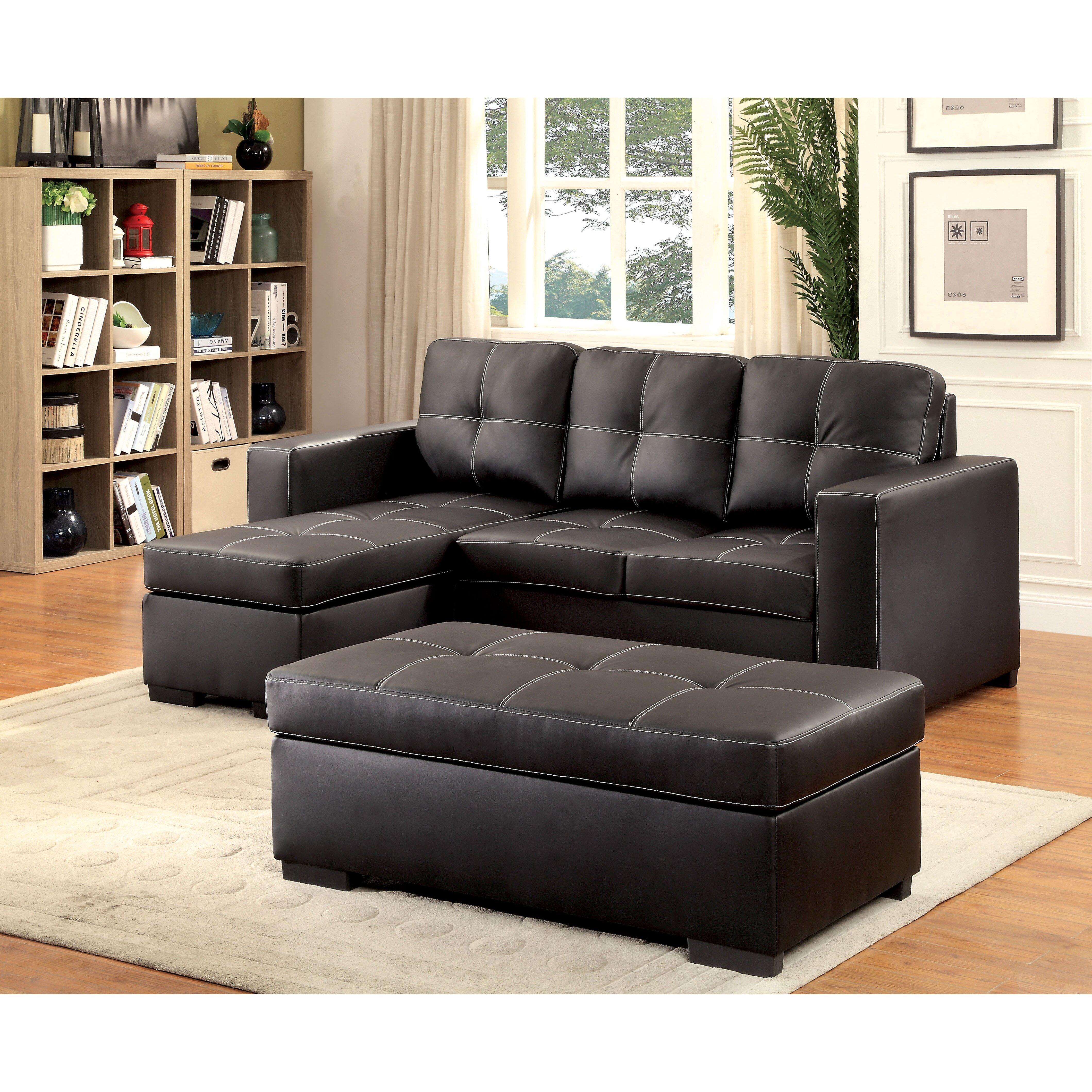 Latitude run ohboke reversible chaise sectional wayfair for Sectional sofa reversible chaise living room furniture