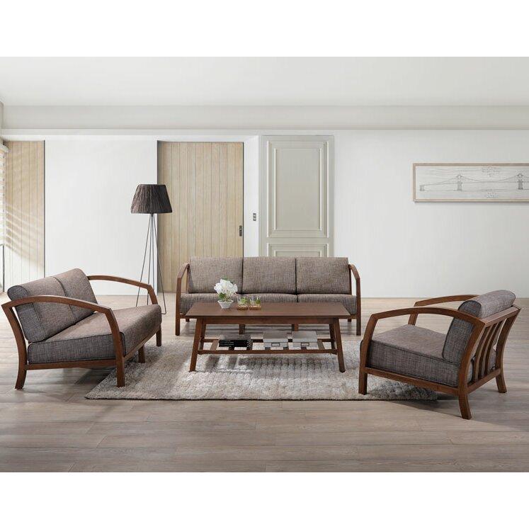 Latitude Run Aguiar 3 Piece Living Room Set Wayfair