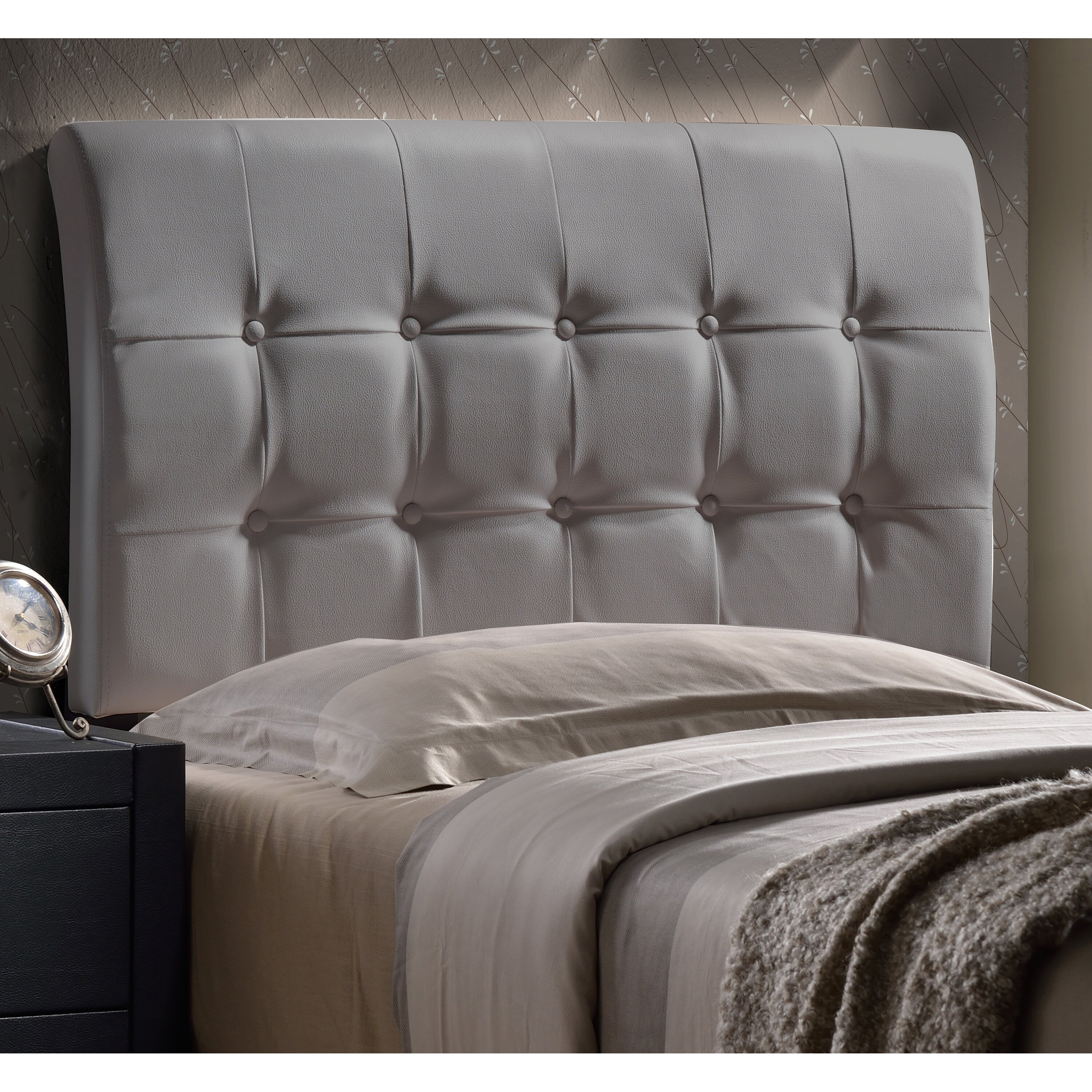 Latitude Run Gosford Upholstered Panel Headboard Wayfair
