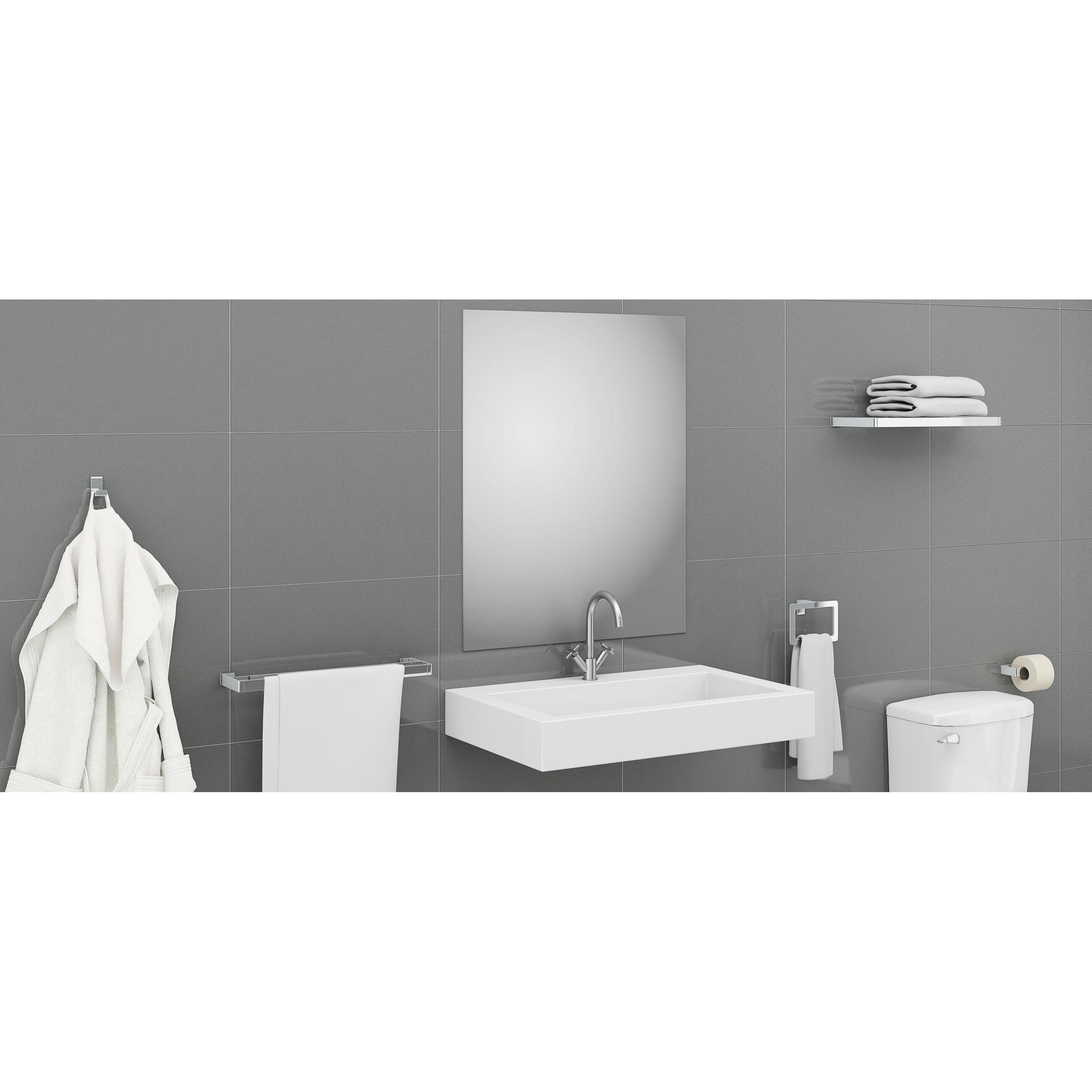 Ancona gala 4 piece bathroom hardware set wayfair for Bathroom 4 piece set