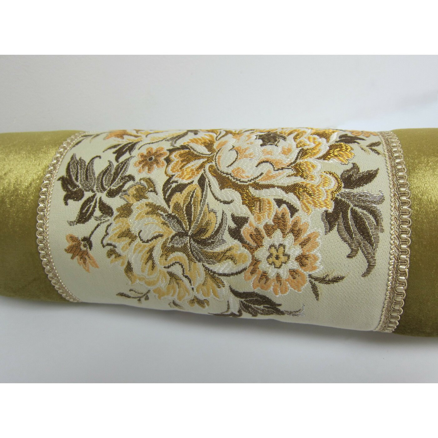 Wayfair Decorative Pillow Covers : AirDoDo European Floral Bolster Pillow Cover Wayfair