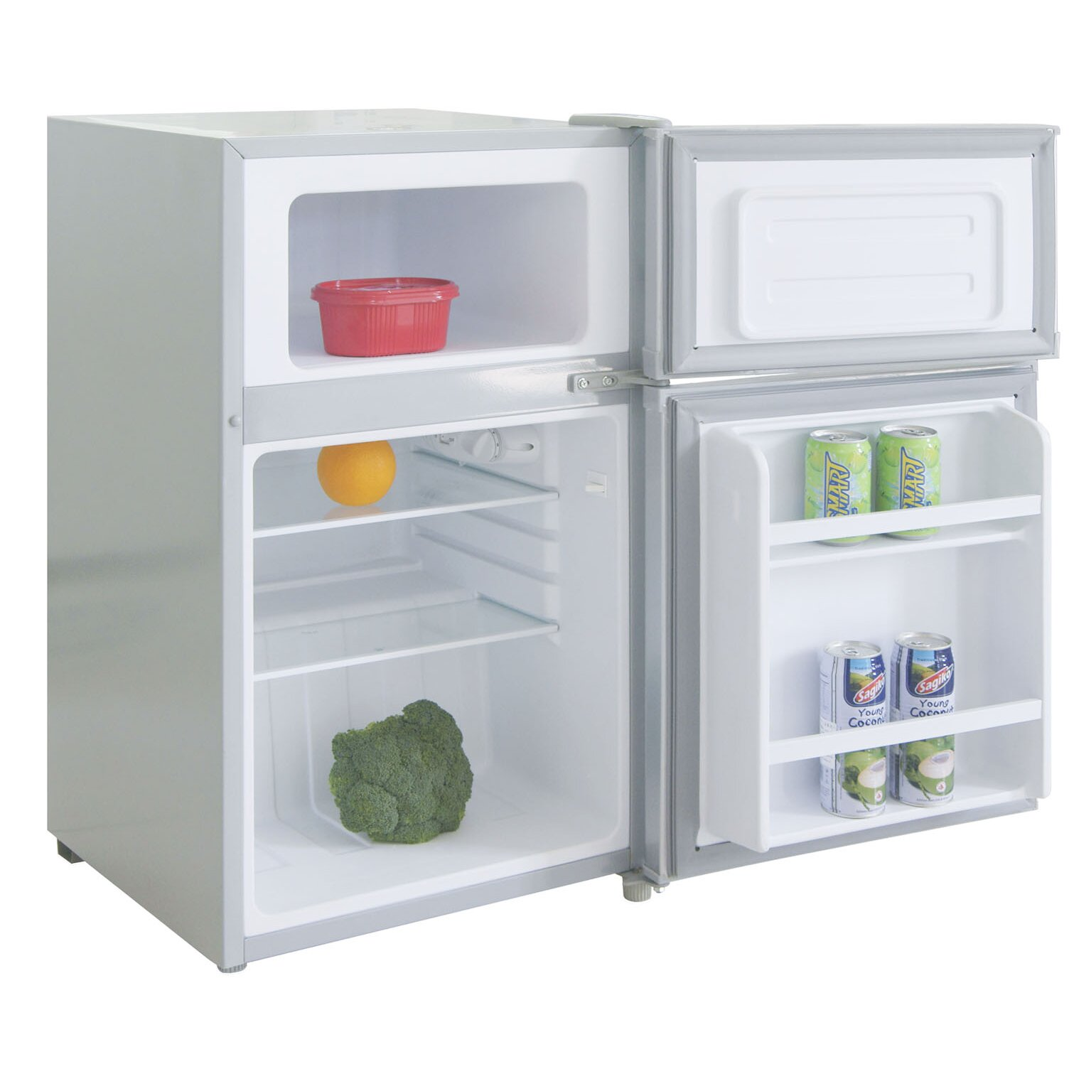 Igloo 3 2 Cu Ft Compact Refrigerator With Freezer