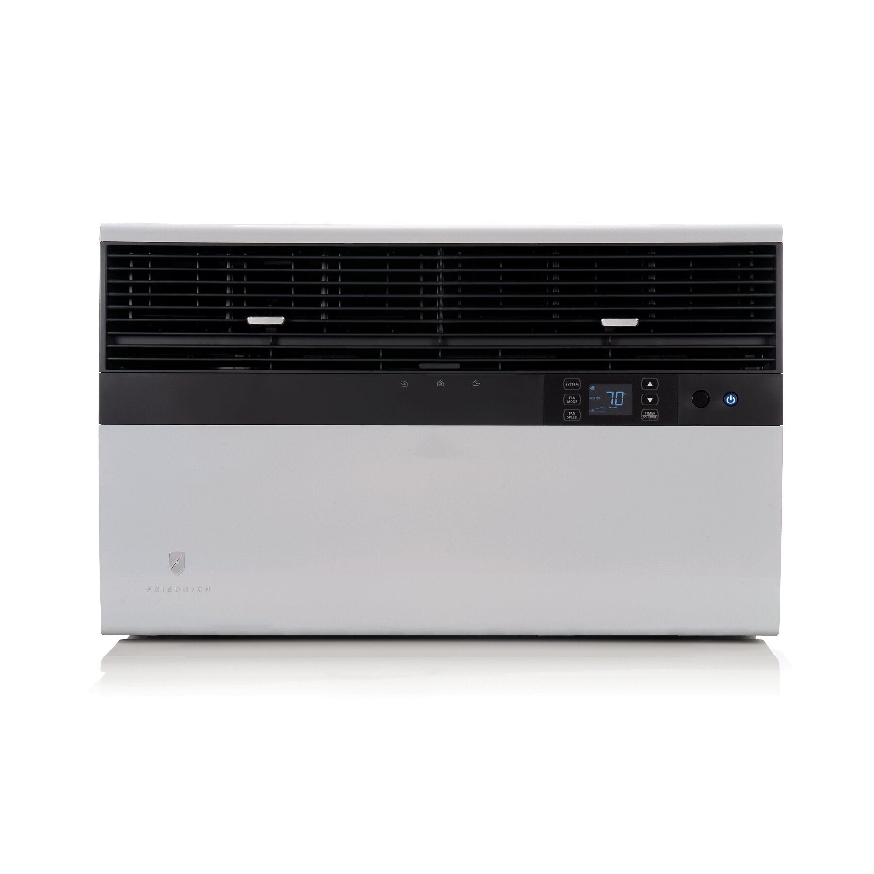 Friedrich kuhl 12000 btu energy star window air for 12000 btu window ac with heat
