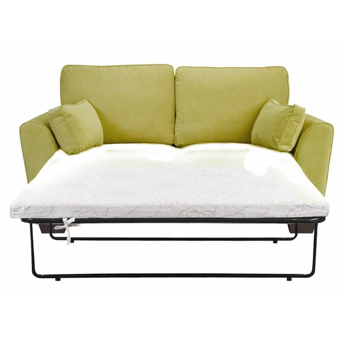 Mercury row virginis 2 seater sofa bed reviews wayfair uk for Sofa bed 5 seater