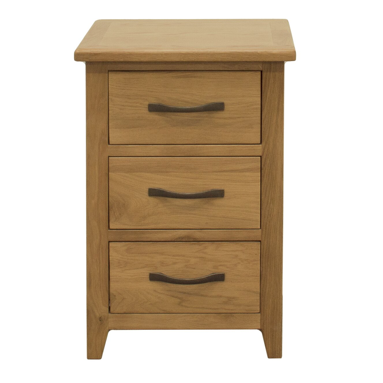 three posts pheasant 3 drawer bedside table reviews. Black Bedroom Furniture Sets. Home Design Ideas