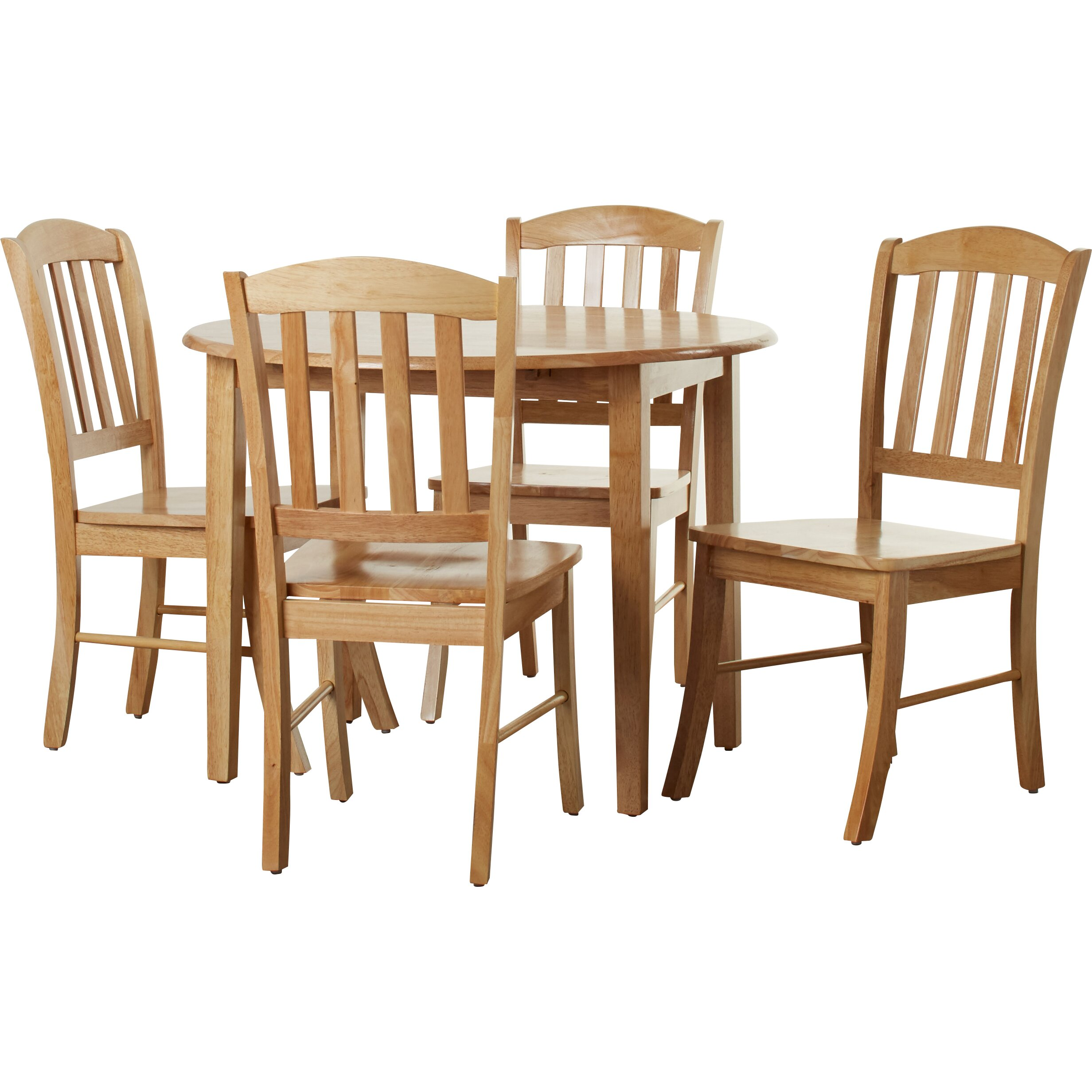 4 Dining Table And Chairs: Three Posts Manheim Extendable Dining Table And 4 Chairs