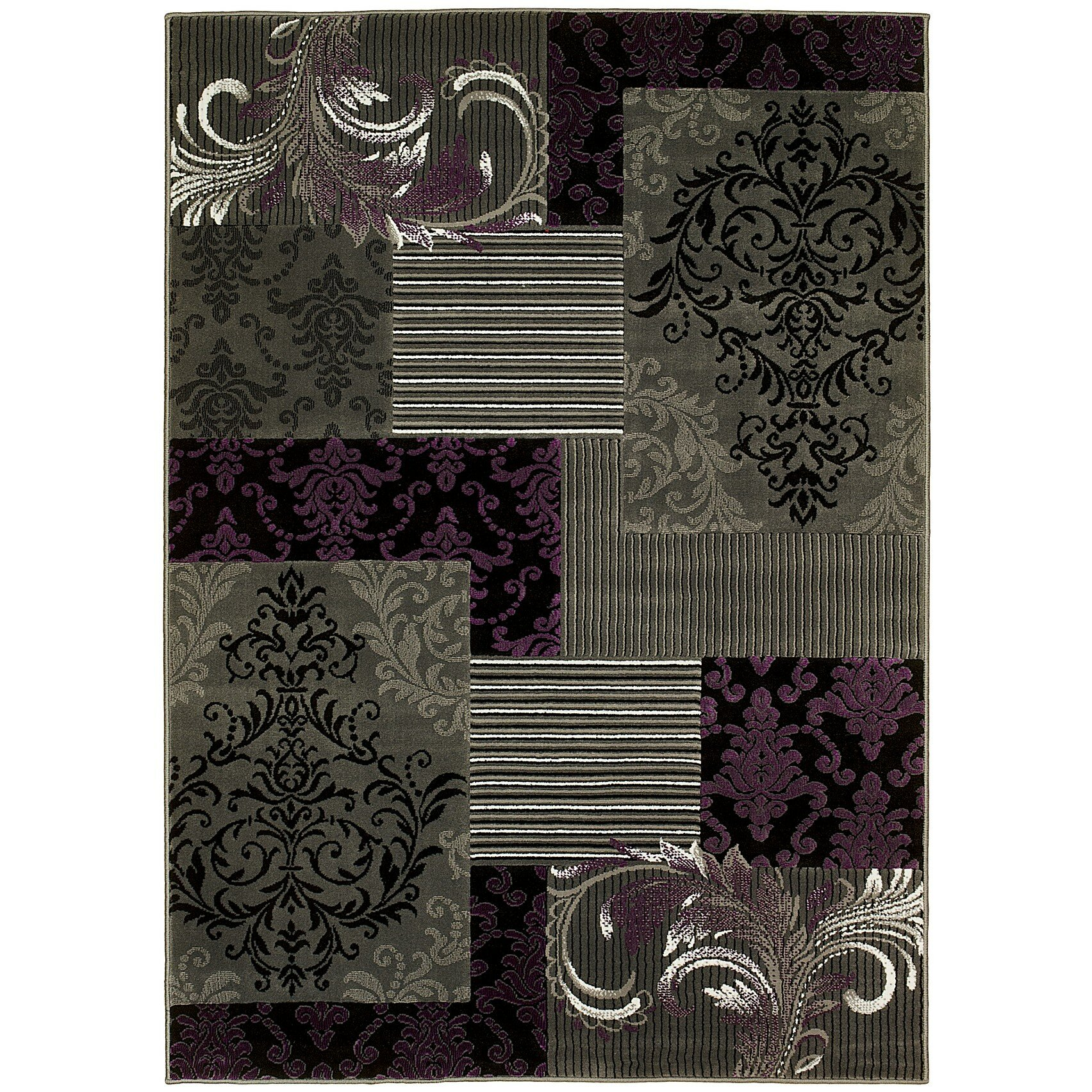Purple Rug: Brady Home Purple Area Rug & Reviews