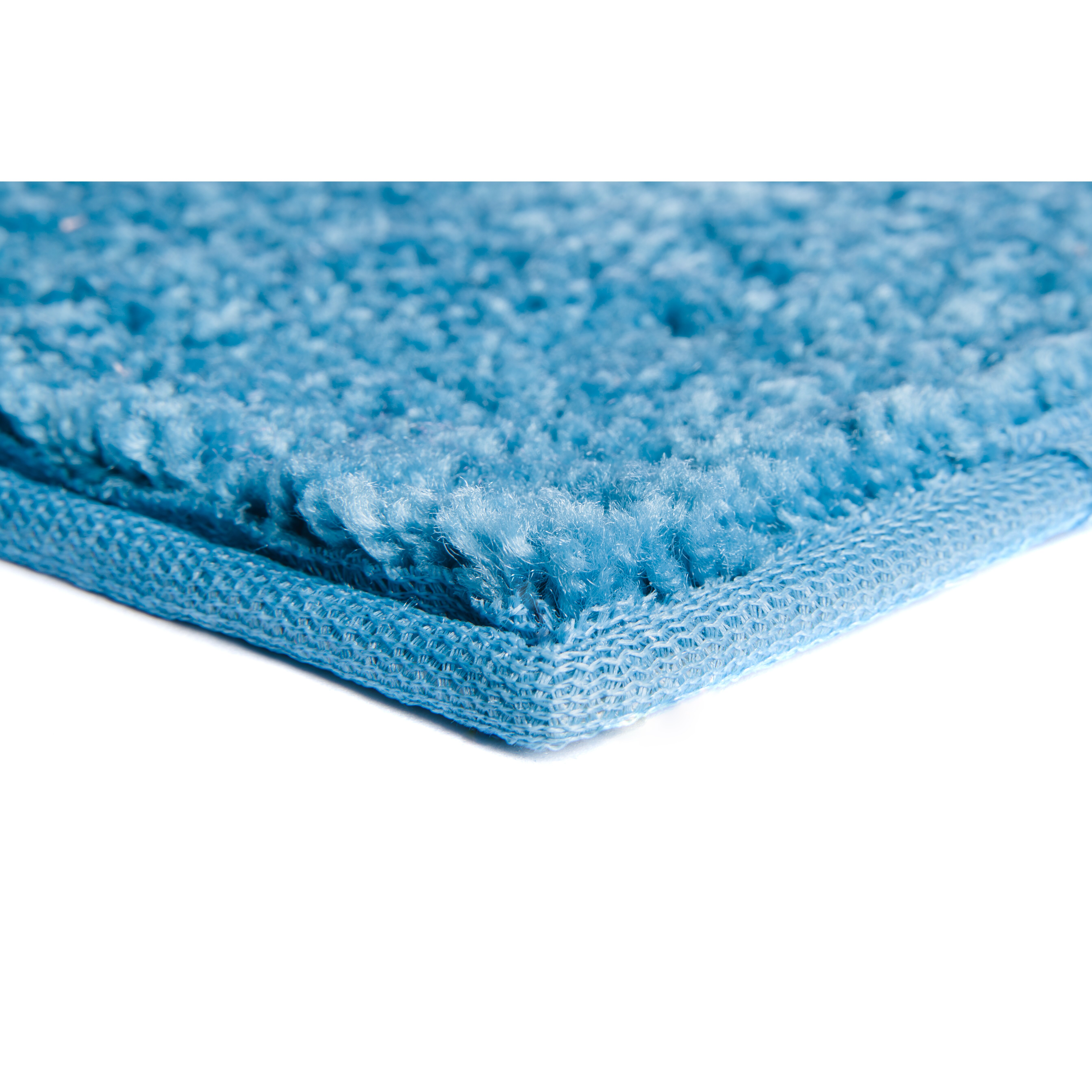 Nance industries ourspace bright royal sky blue area rug for Bright blue area rug