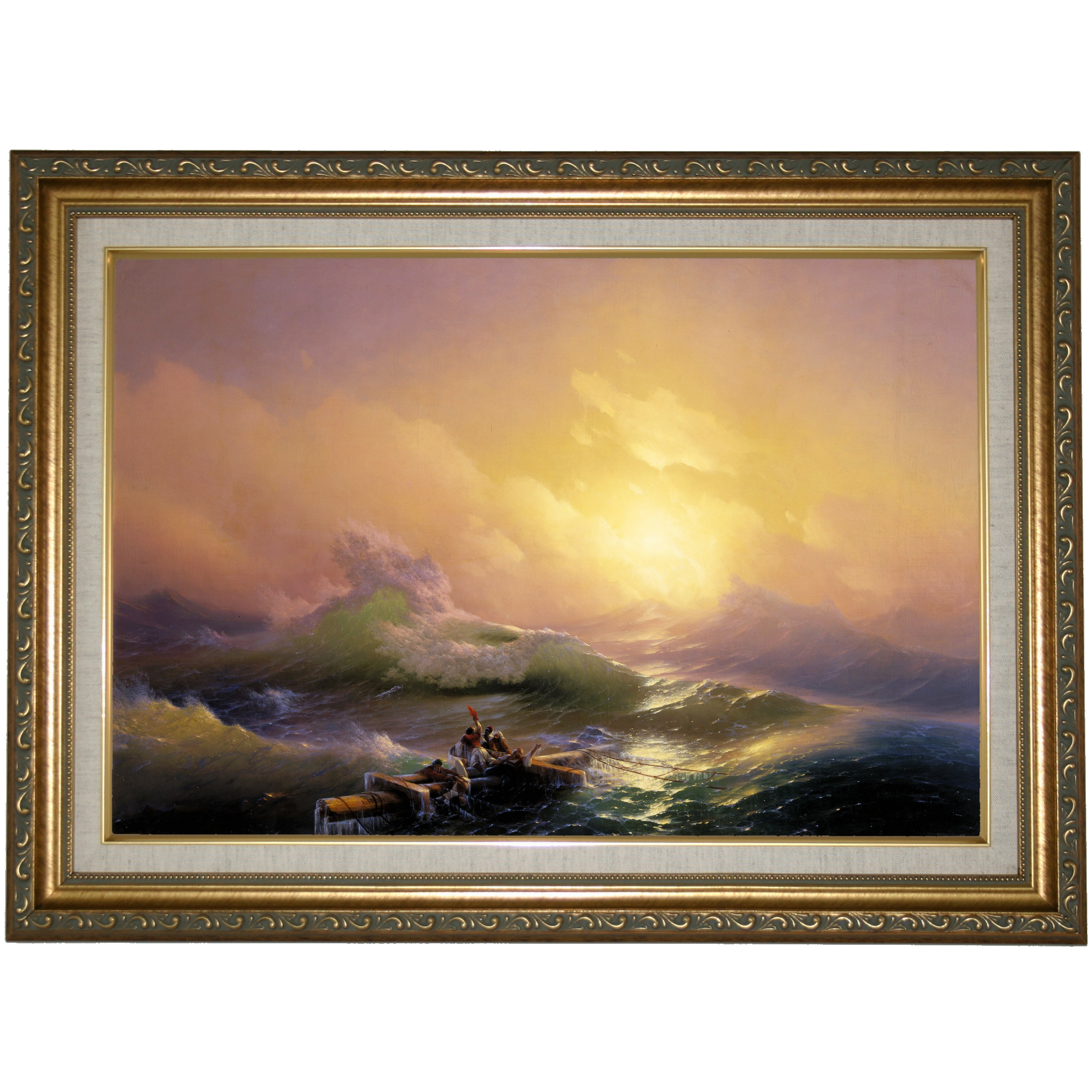 Historic Art Gallery The Ninth Wave 1850 By Ivan