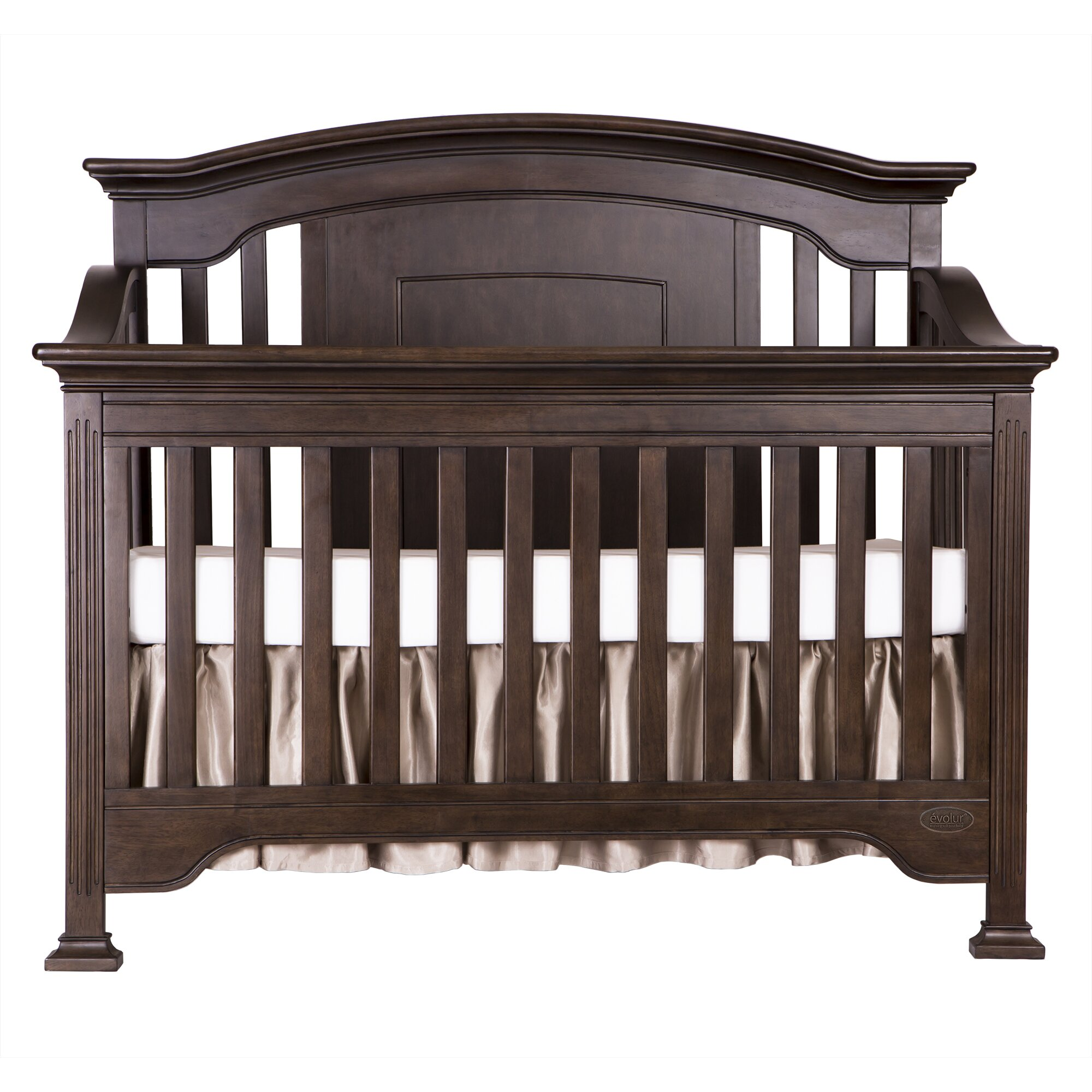 Evolur sawyer 5 in 1 convertible crib wayfair for 5 in 1 bed