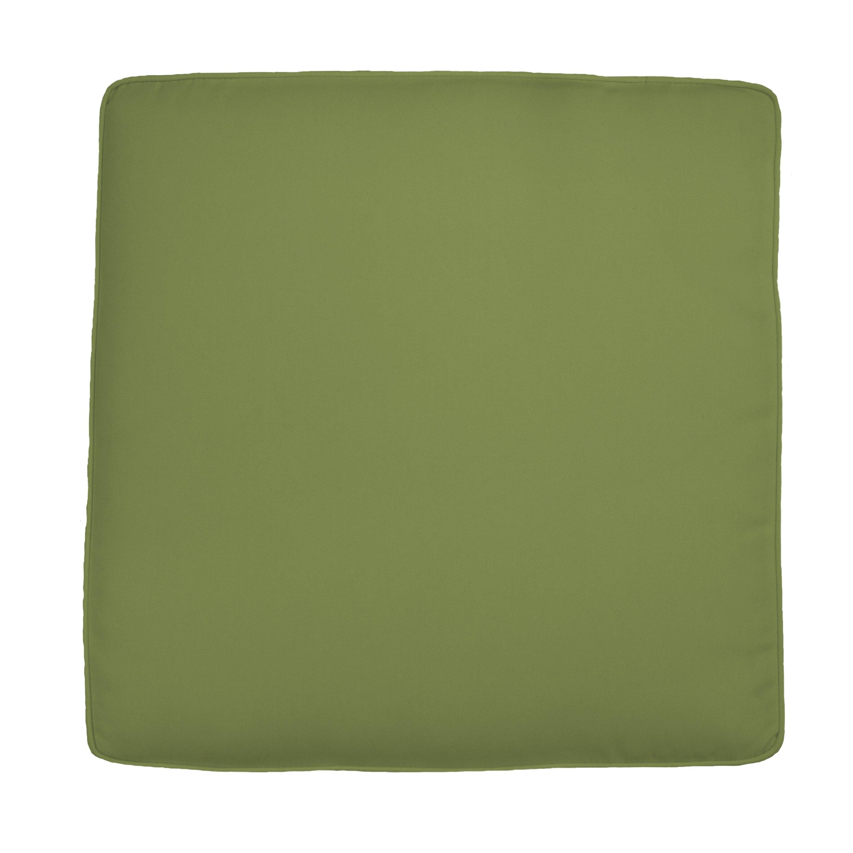 custom outdoor cushions knife edge outdoor sunbrella ottoman cushion