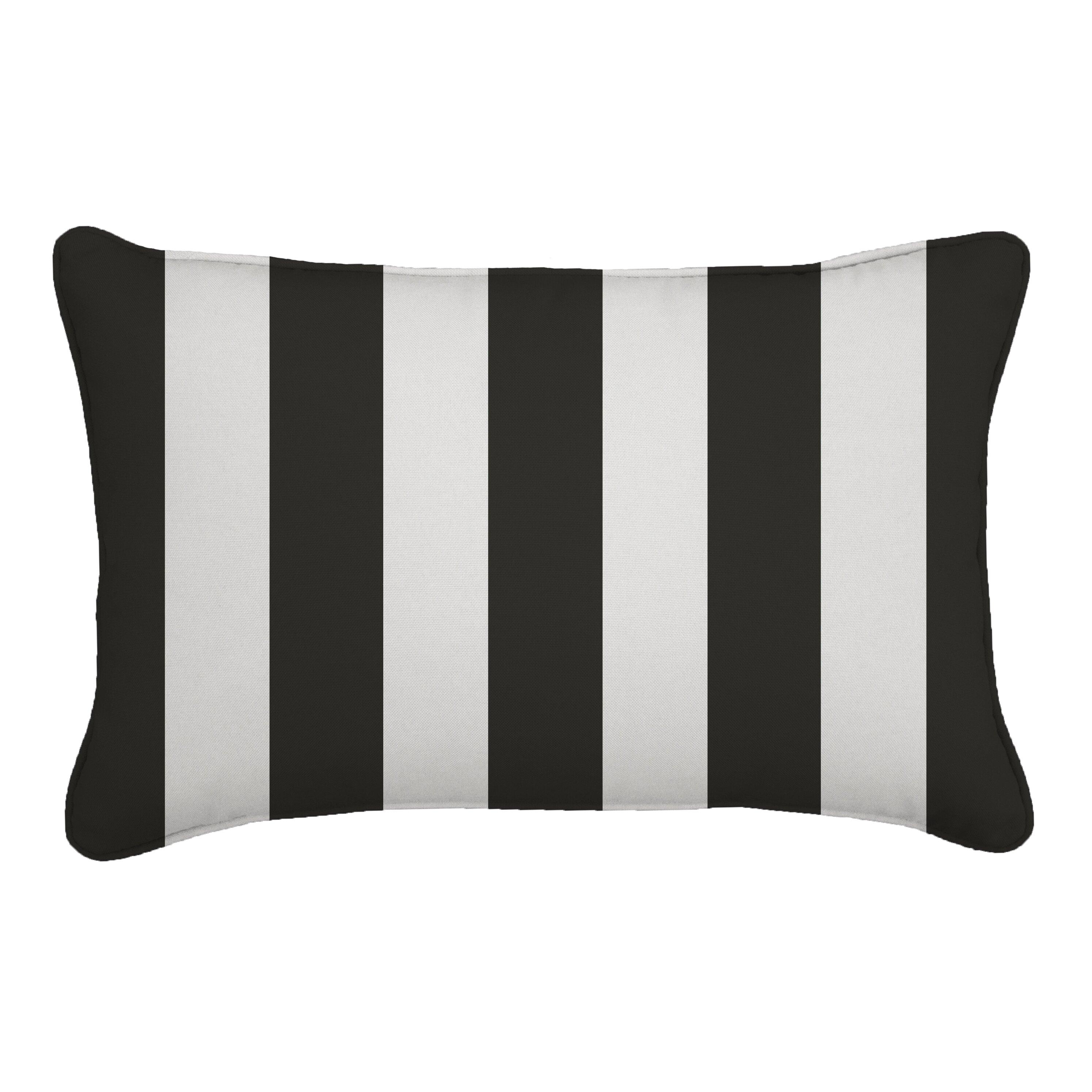 Custom Sunbrella Throw Pillows : Wayfair Custom Outdoor Cushions Outdoor Sunbrella Lumbar Pillow & Reviews Wayfair